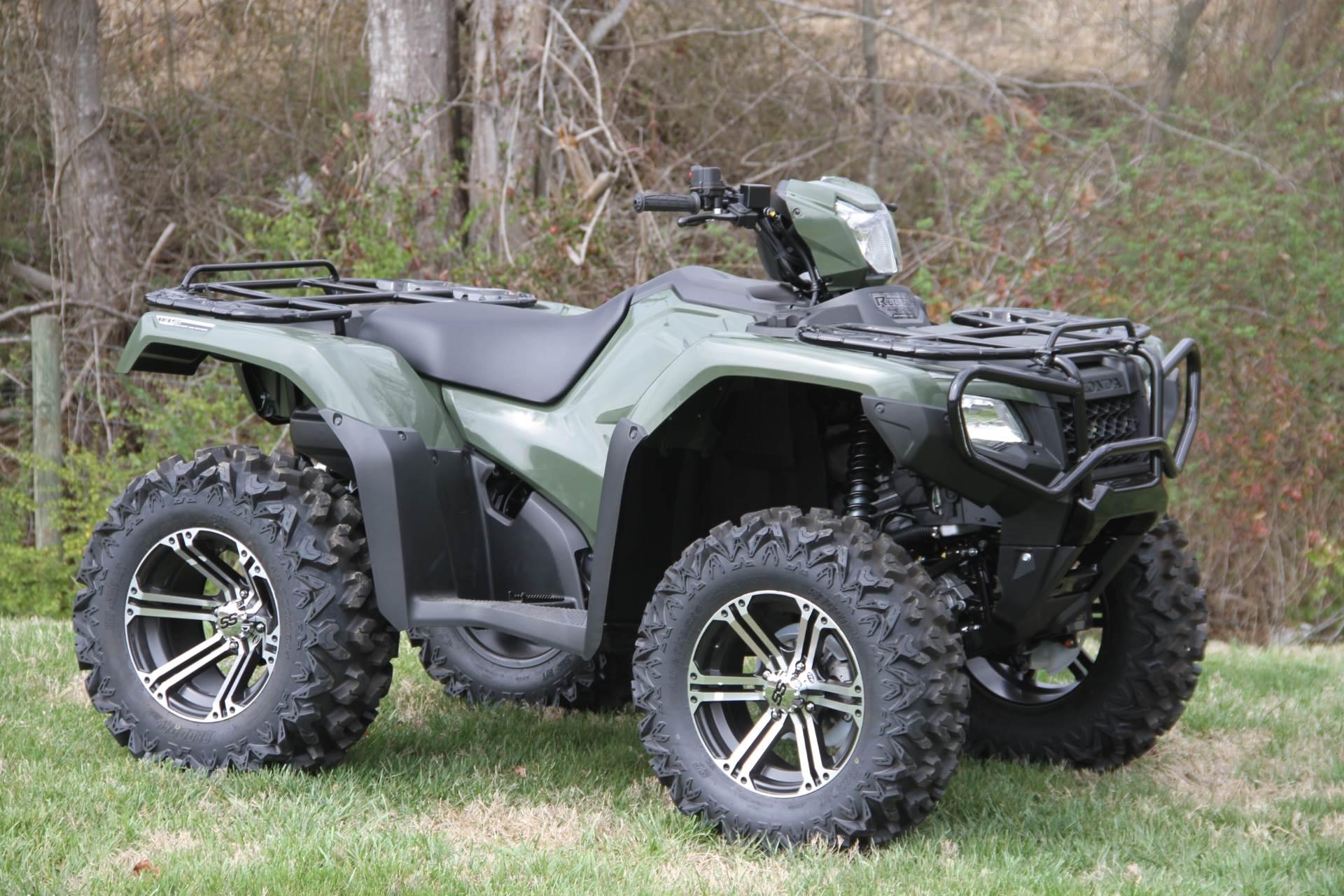 2017 Honda FourTrax Foreman Rubicon 4x4 DCT EPS in Hendersonville, North Carolina