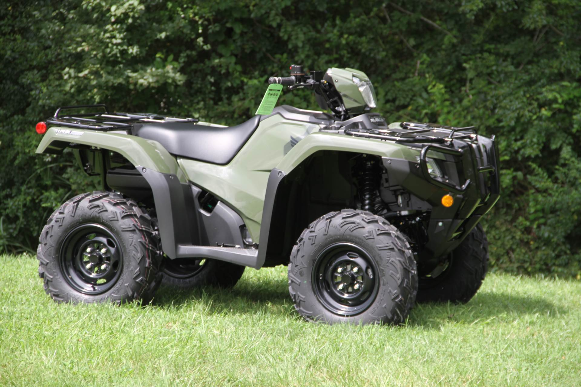 2021 Honda FourTrax Foreman Rubicon 4x4 Automatic DCT EPS in Hendersonville, North Carolina - Photo 9