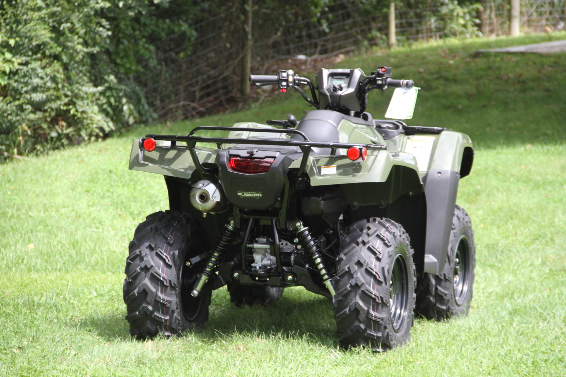 2021 Honda FourTrax Foreman Rubicon 4x4 Automatic DCT EPS in Hendersonville, North Carolina - Photo 15