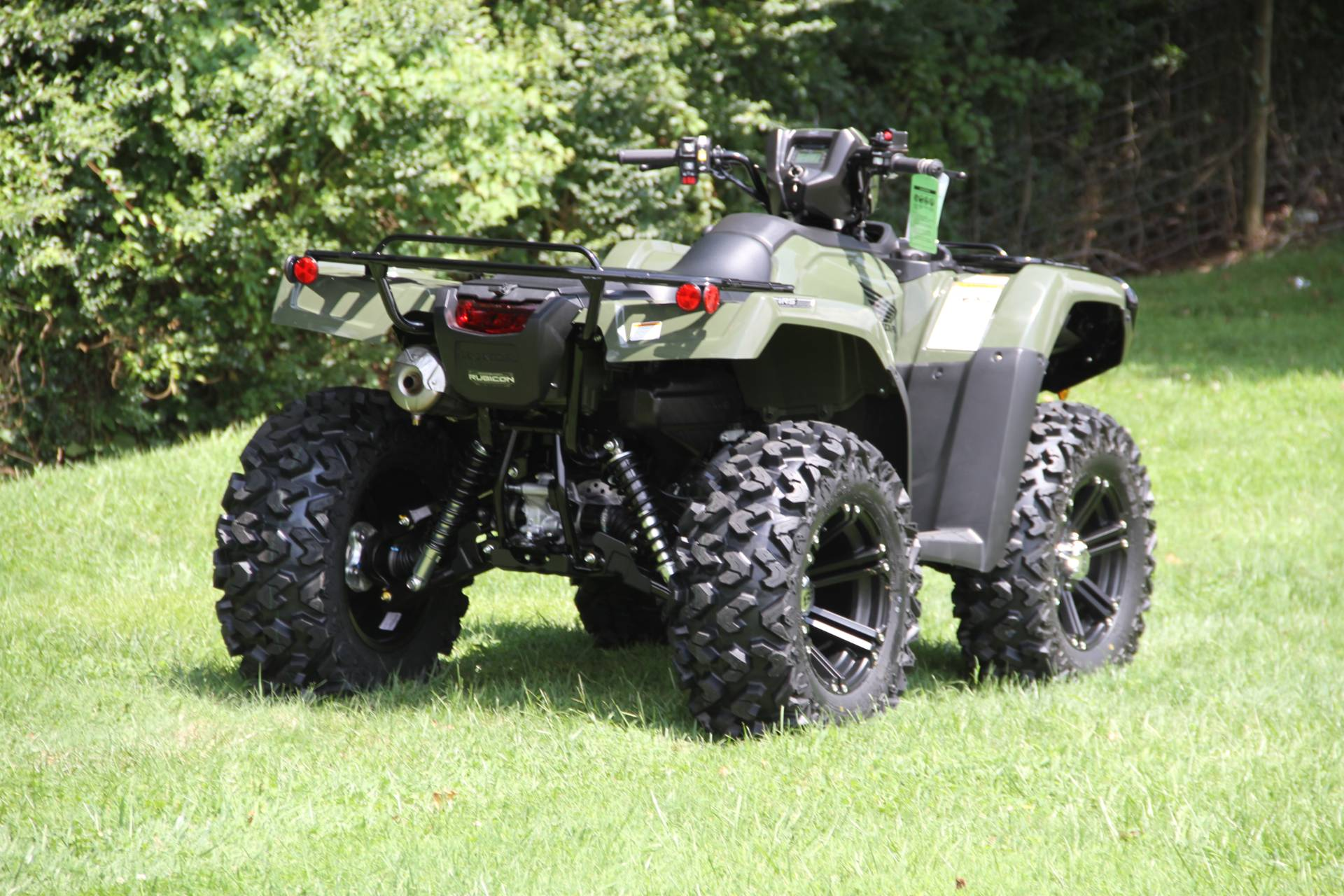 2021 Honda FourTrax Foreman Rubicon 4x4 Automatic DCT EPS in Hendersonville, North Carolina - Photo 45