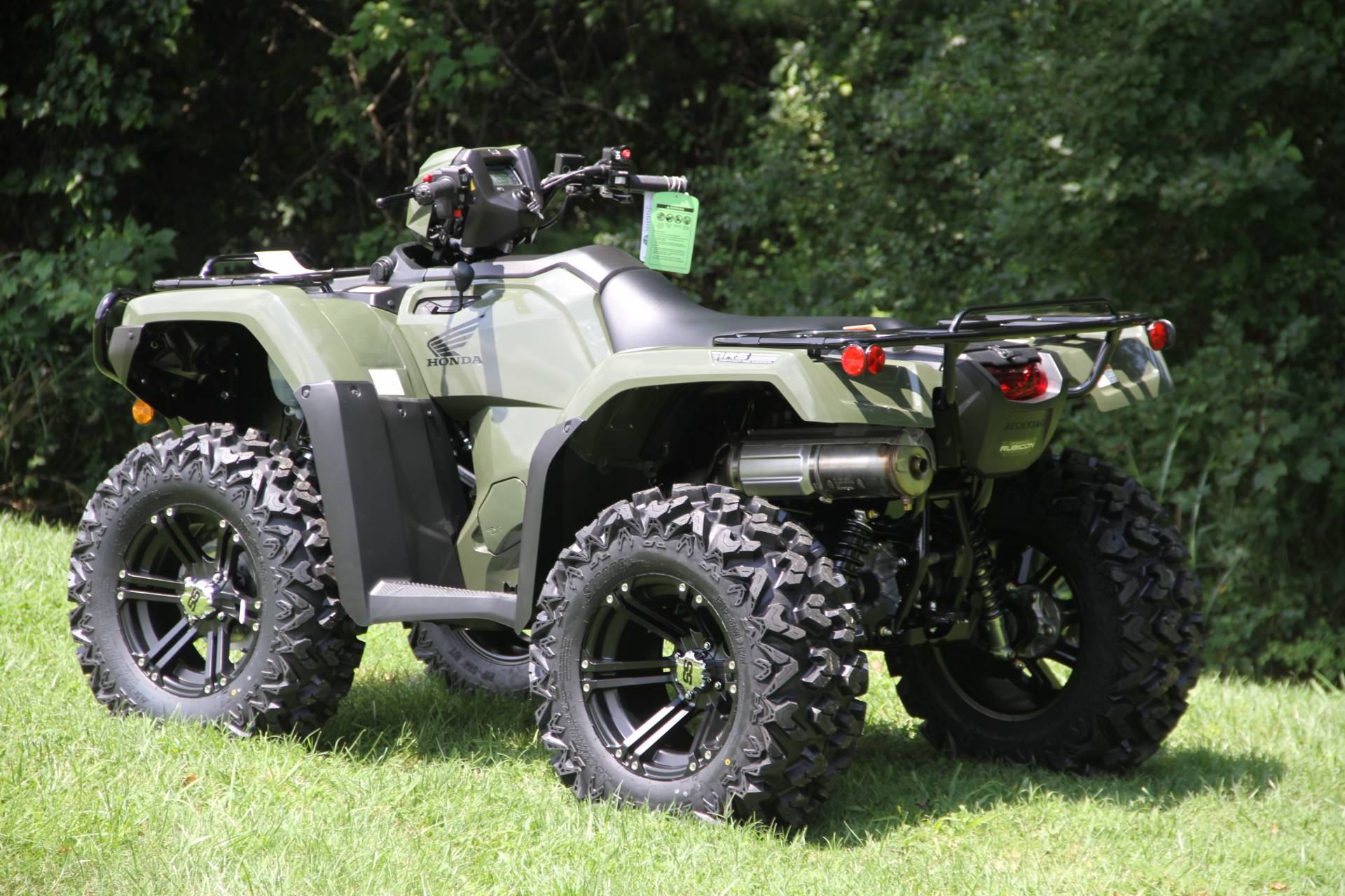 2021 Honda FourTrax Foreman Rubicon 4x4 Automatic DCT EPS in Hendersonville, North Carolina - Photo 49