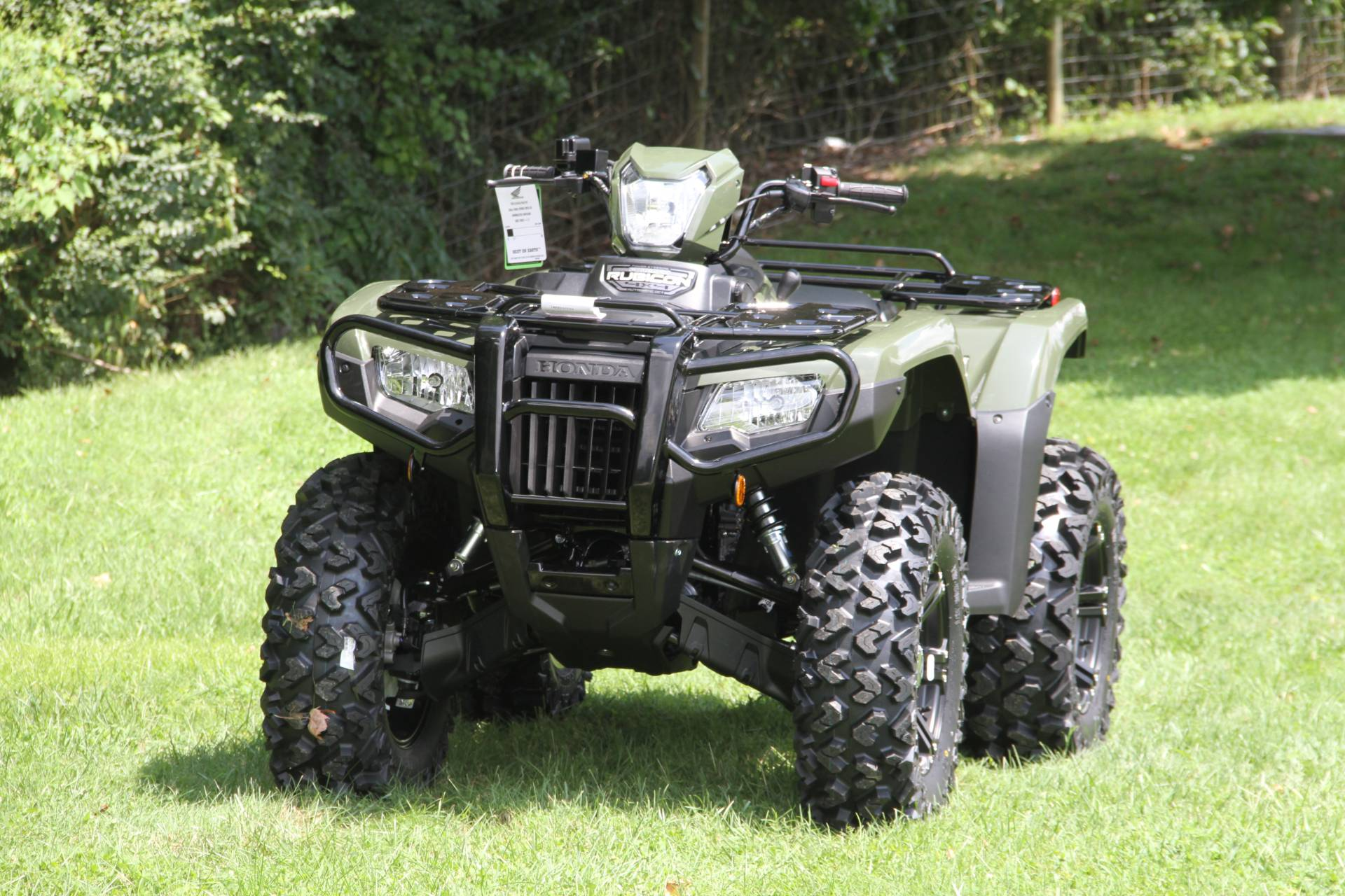 2021 Honda FourTrax Foreman Rubicon 4x4 Automatic DCT EPS in Hendersonville, North Carolina - Photo 59
