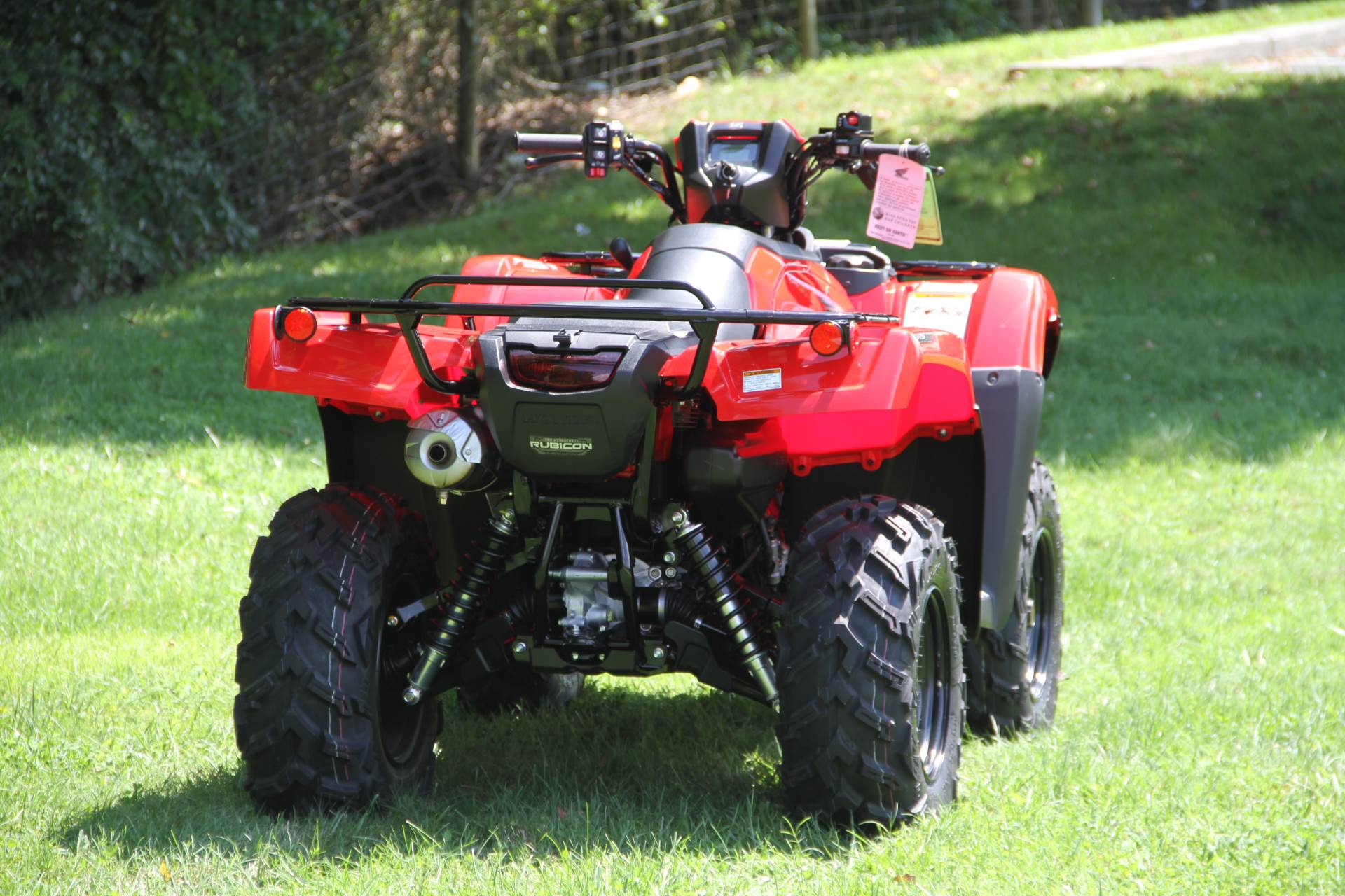 2021 Honda FourTrax Foreman Rubicon 4x4 Automatic DCT in Hendersonville, North Carolina - Photo 3