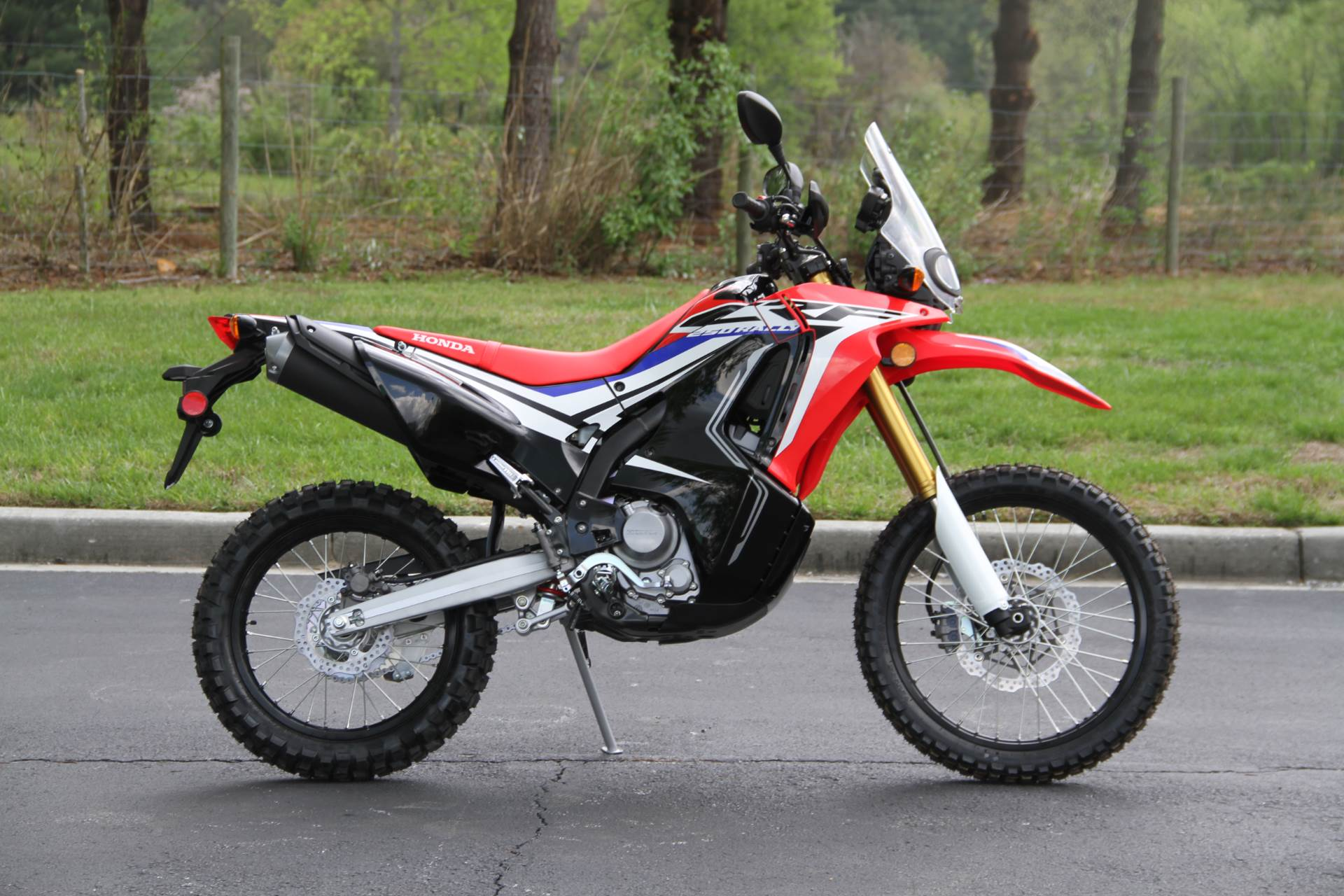 2017 Honda CRF250L Rally in Hendersonville, North Carolina