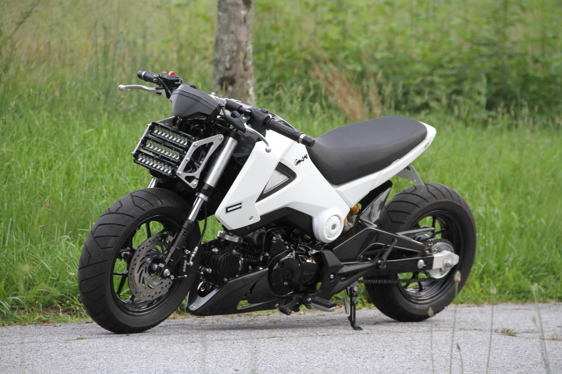 New 2015 Honda Grom Motorcycles in Hendersonville NC