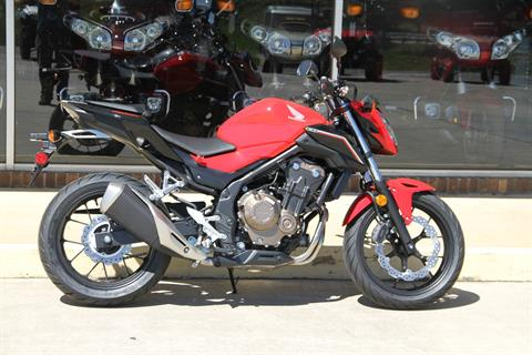 2017 Honda CB500F in Hendersonville, North Carolina