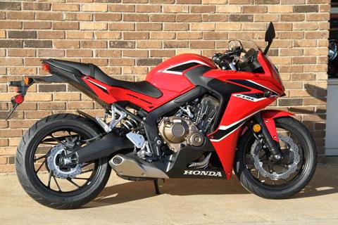 2018 Honda CBR650F in Hendersonville, North Carolina