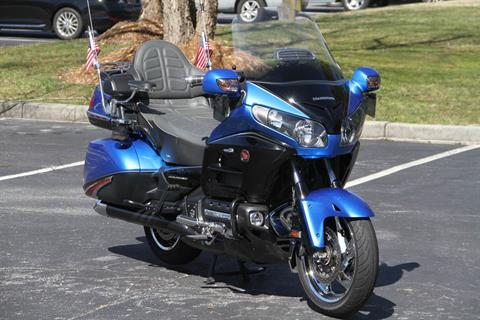 2017 Honda Gold Wing Audio Comfort Navi XM ABS in Hendersonville, North Carolina - Photo 1