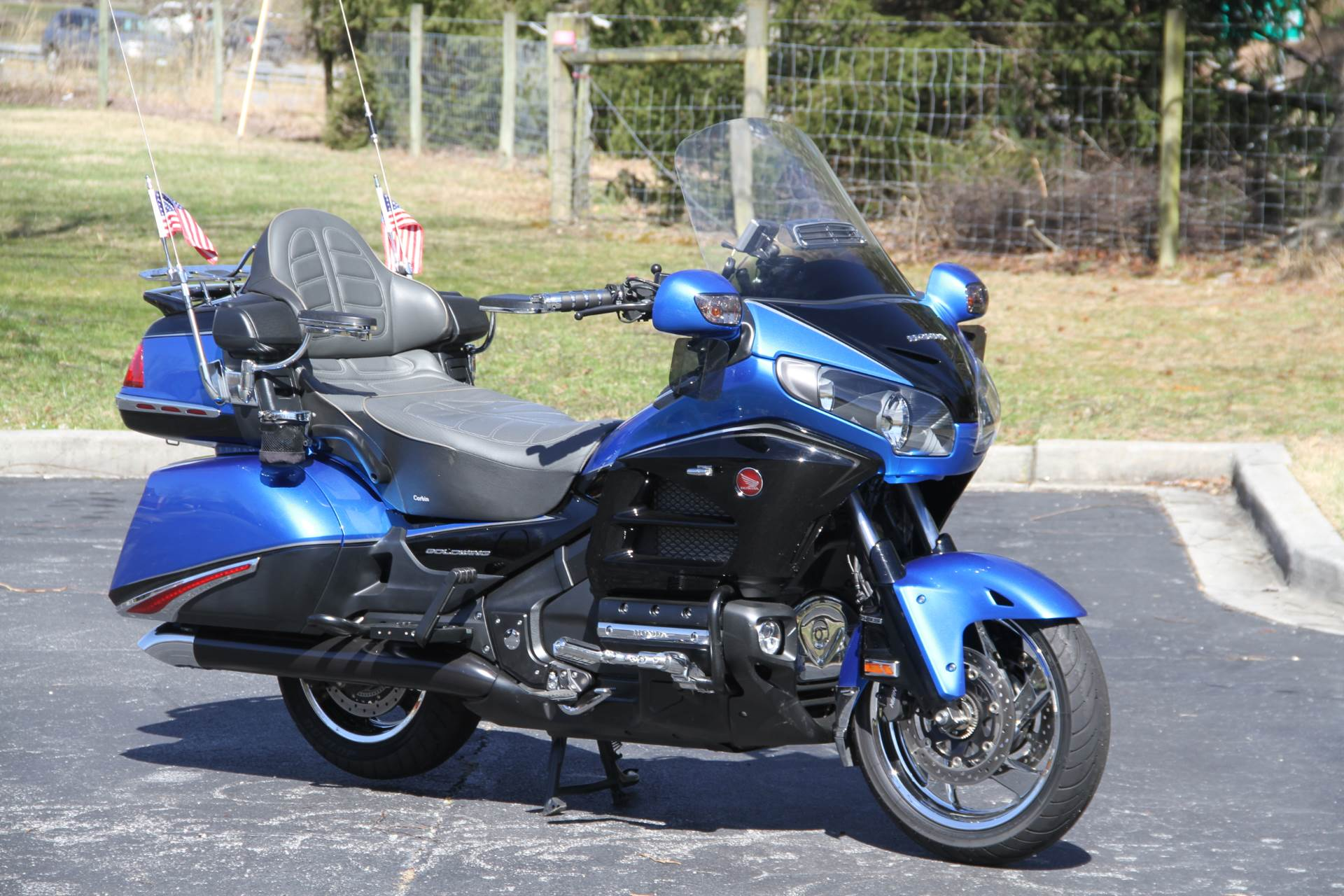 2017 Honda Gold Wing Audio Comfort Navi XM ABS in Hendersonville, North Carolina - Photo 4