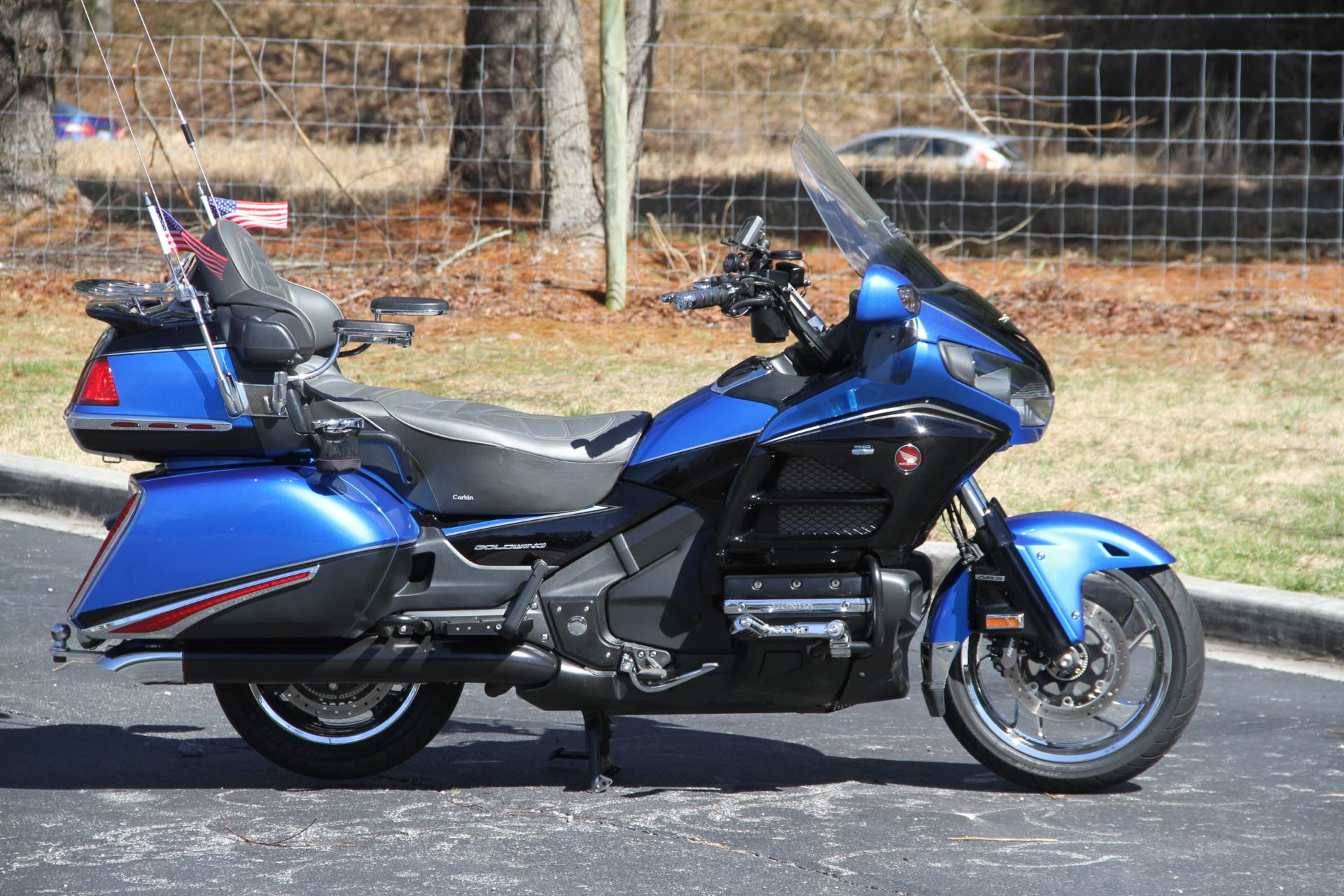 2017 Honda Gold Wing Audio Comfort Navi XM ABS in Hendersonville, North Carolina - Photo 11