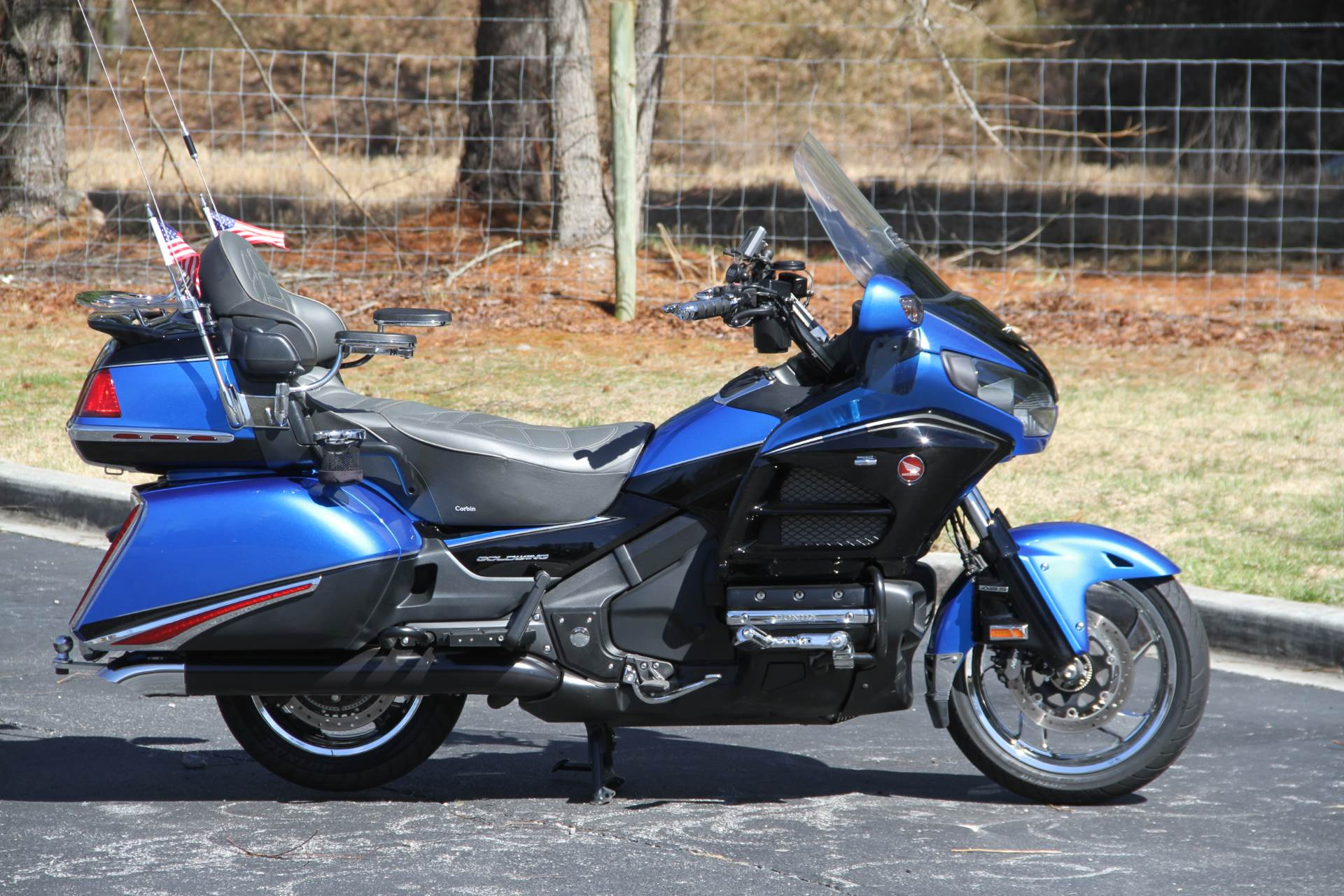 2017 Honda Gold Wing Audio Comfort Navi XM ABS in Hendersonville, North Carolina - Photo 5