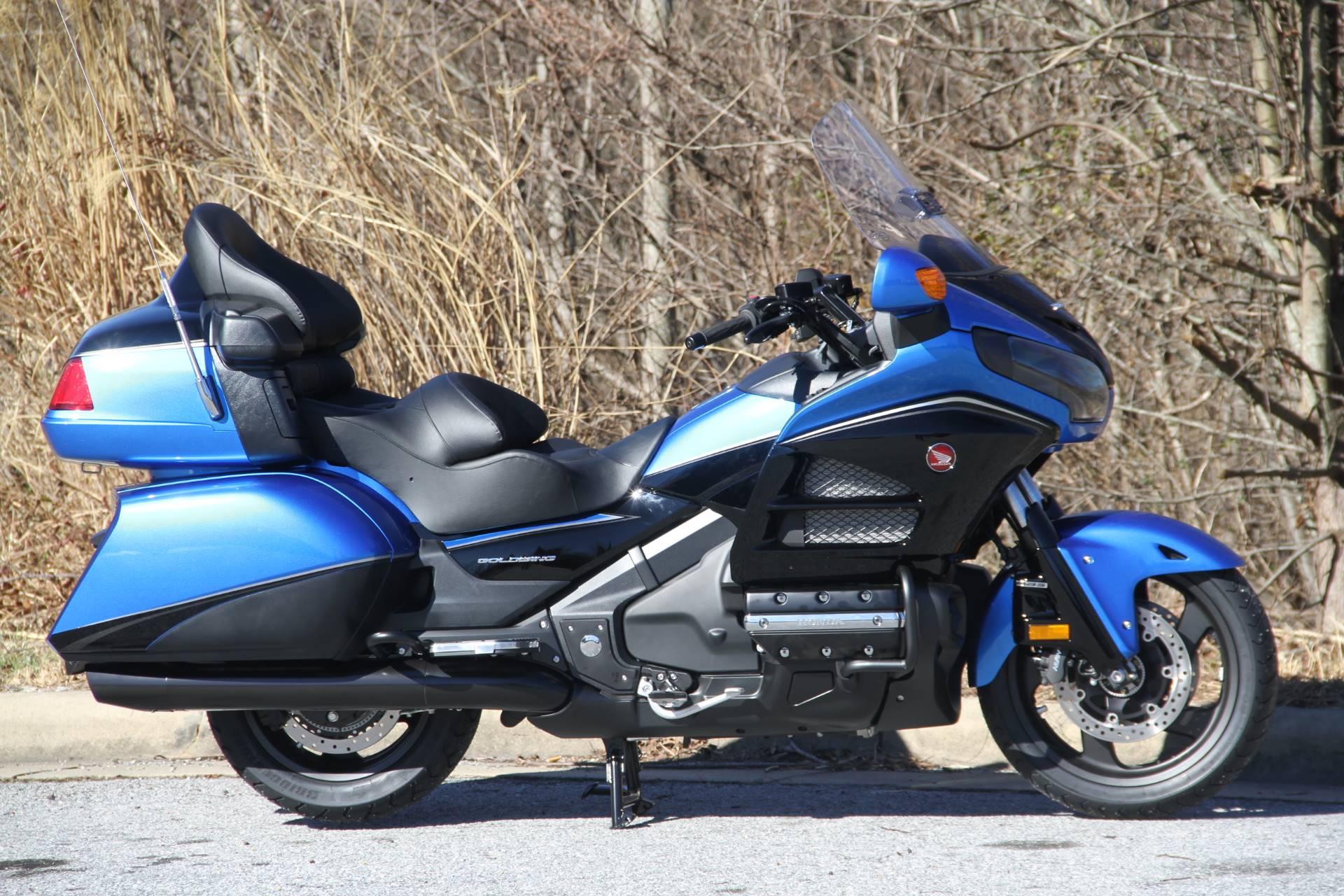 2017 Honda Gold Wing Audio Comfort Navi XM ABS in Hendersonville, North Carolina