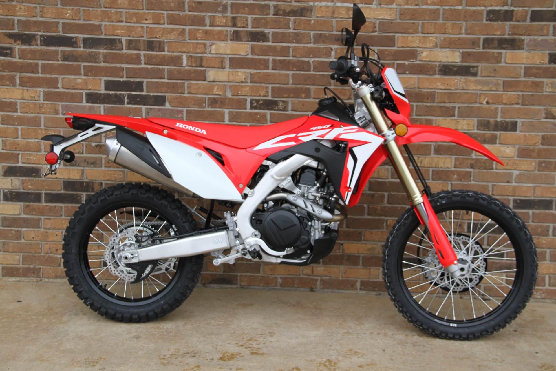 New 2019 Honda Crf450l Motorcycles In Hendersonville Nc Stock