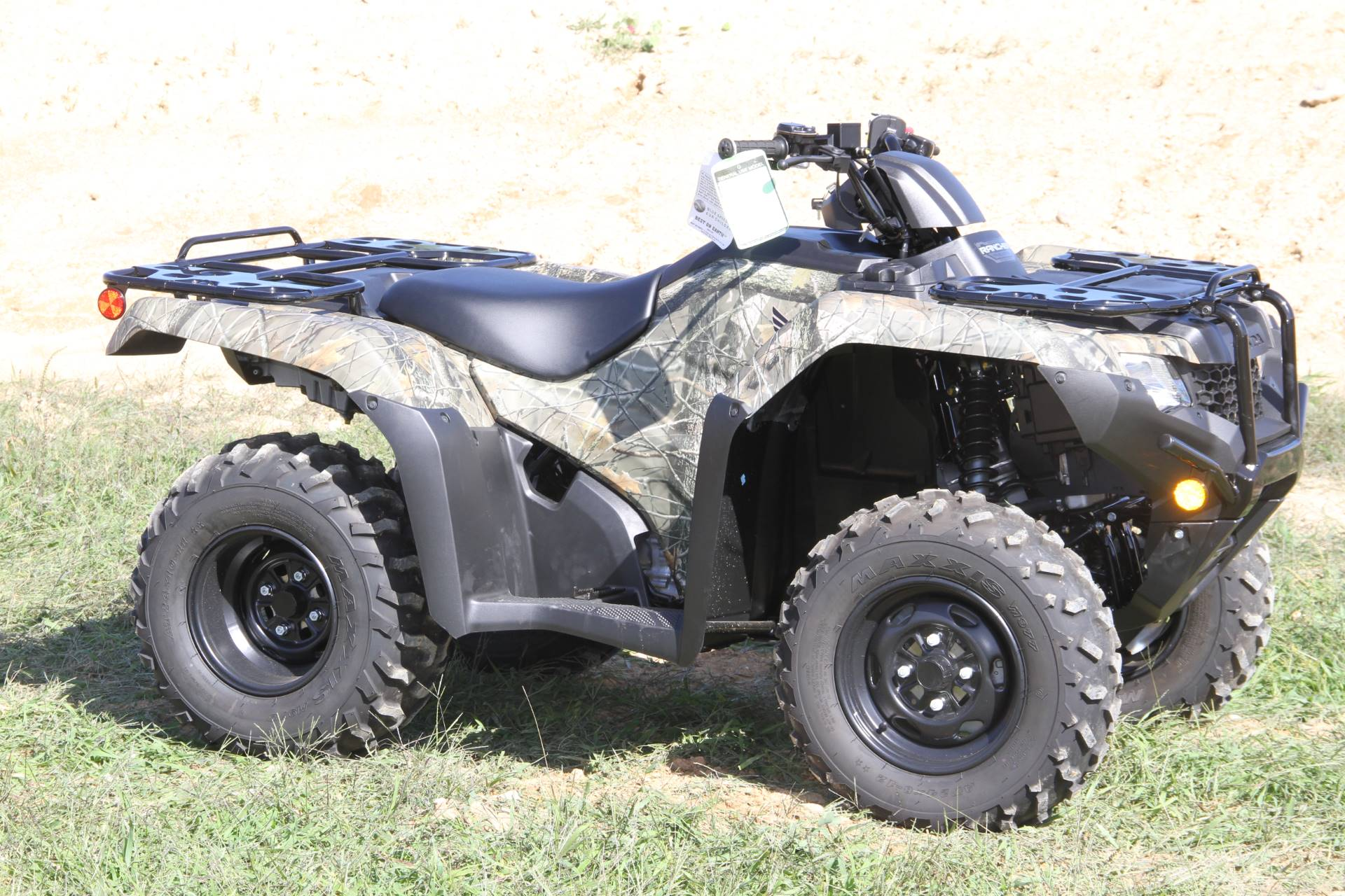 2020 Honda FourTrax Rancher 4x4 Automatic DCT EPS in Hendersonville, North Carolina - Photo 1