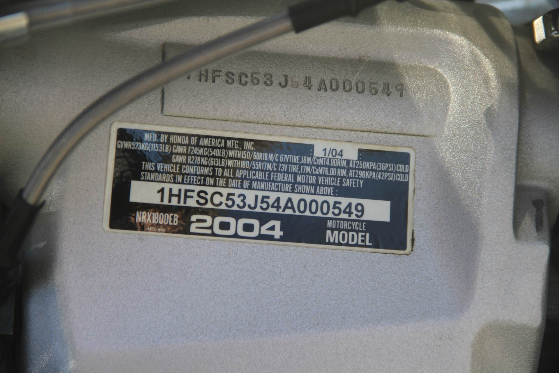 2004 Honda Valkyrie Rune in Hendersonville, North Carolina - Photo 44