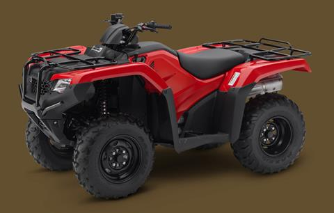 2018 Honda FourTrax Rancher 4x4 in Hendersonville, North Carolina