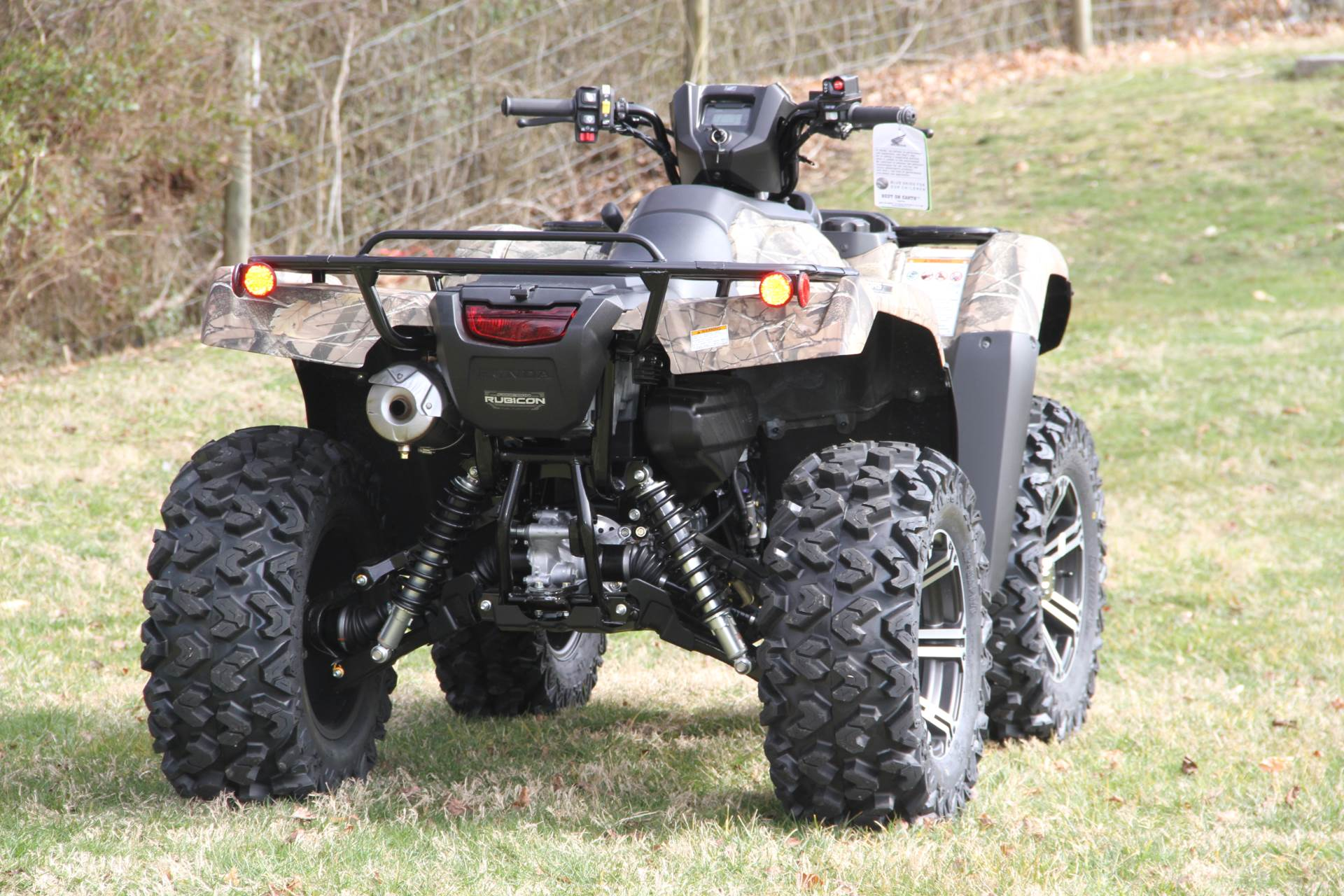 2020 Honda FourTrax Foreman Rubicon 4x4 Automatic DCT EPS Deluxe in Hendersonville, North Carolina - Photo 11