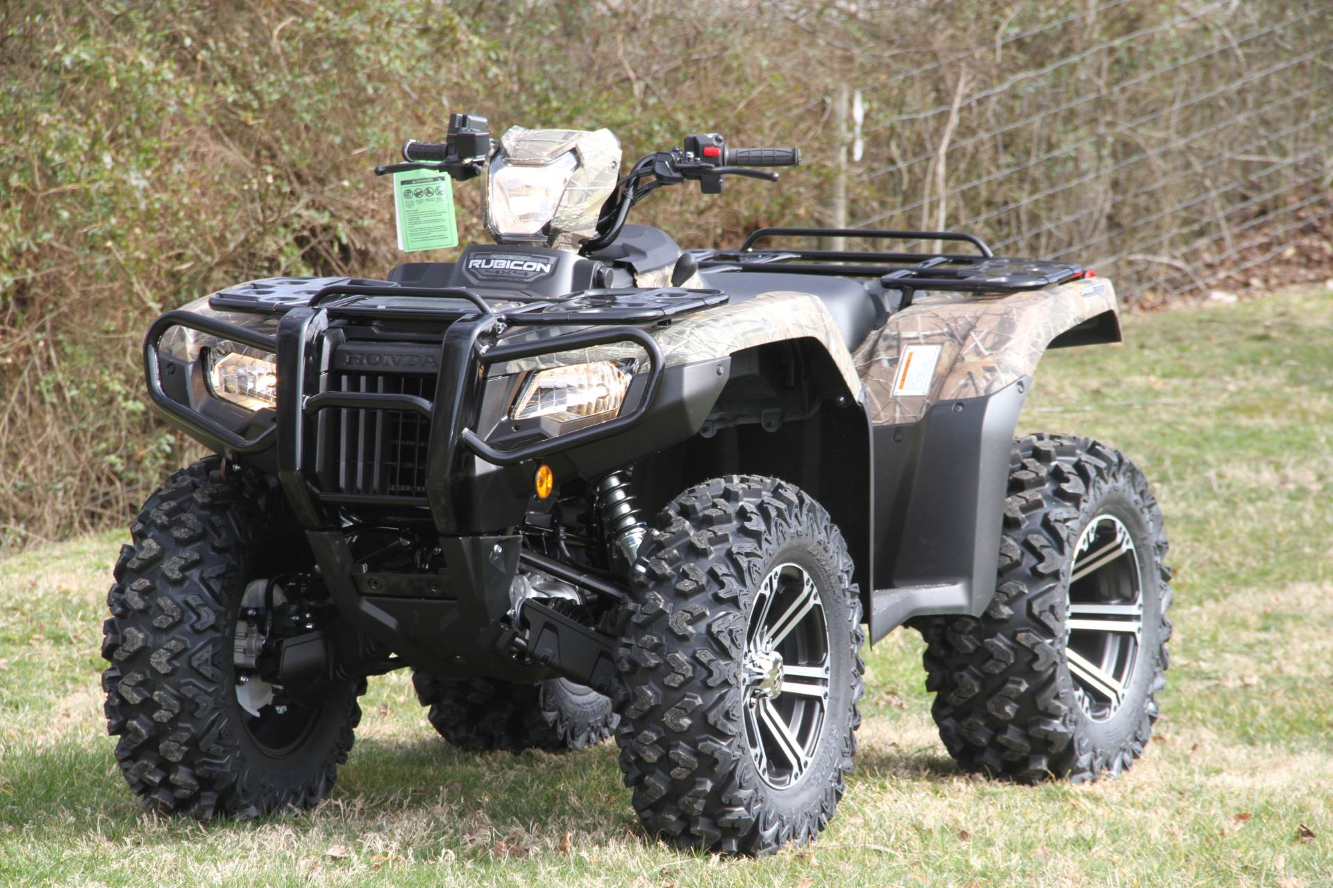 2020 Honda FourTrax Foreman Rubicon 4x4 Automatic DCT EPS Deluxe in Hendersonville, North Carolina - Photo 21