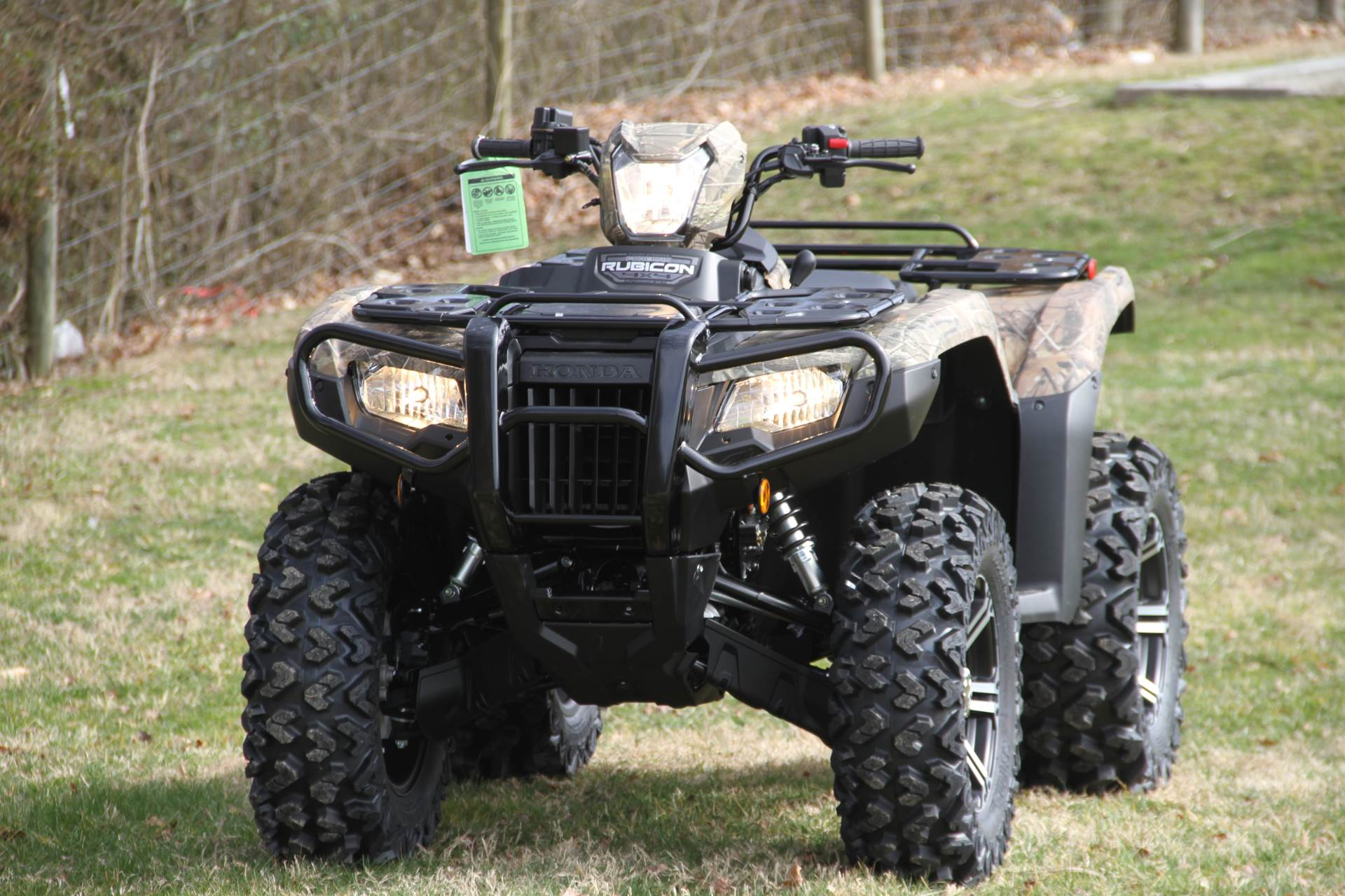2020 Honda FourTrax Foreman Rubicon 4x4 Automatic DCT EPS Deluxe in Hendersonville, North Carolina - Photo 22