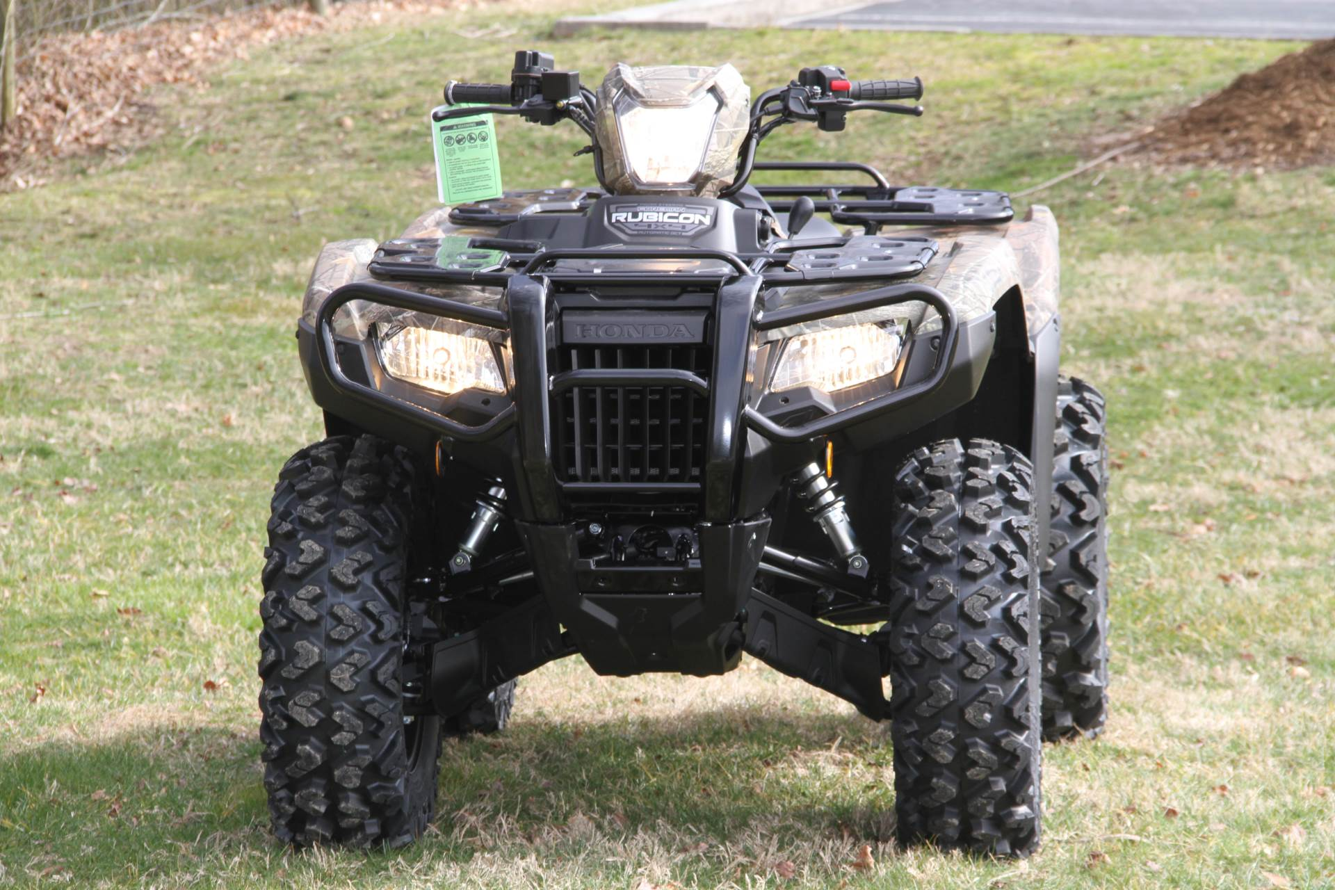 2020 Honda FourTrax Foreman Rubicon 4x4 Automatic DCT EPS Deluxe in Hendersonville, North Carolina - Photo 23