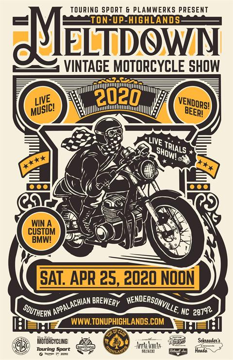 Meltdown Vintage Motorcycle Show
