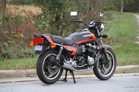 1982 Honda CB900F in Hendersonville, North Carolina
