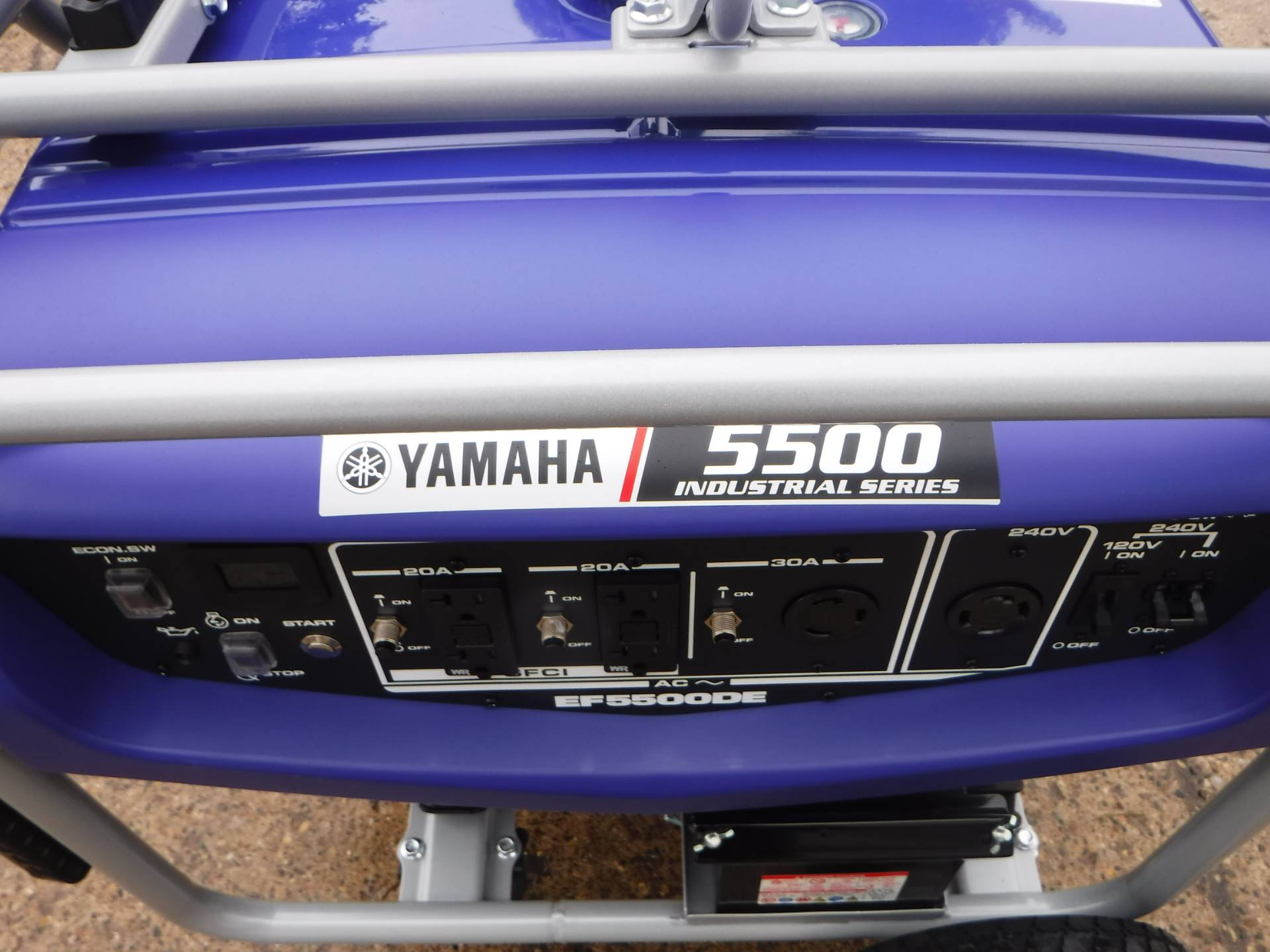 Yamaha EF5500DE in Mazeppa, Minnesota - Photo 1