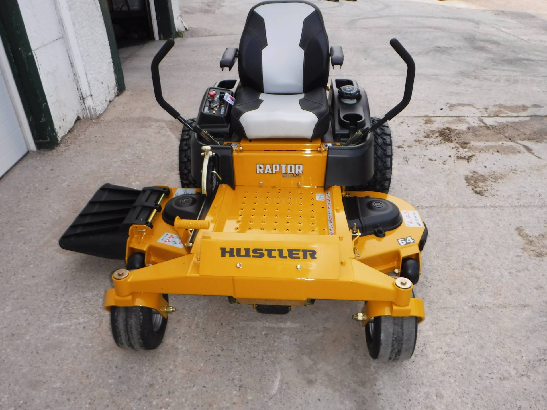2019 Hustler Turf Equipment Raptor SDX 54 in. Kawasaki 23 hp in Mazeppa, Minnesota - Photo 4