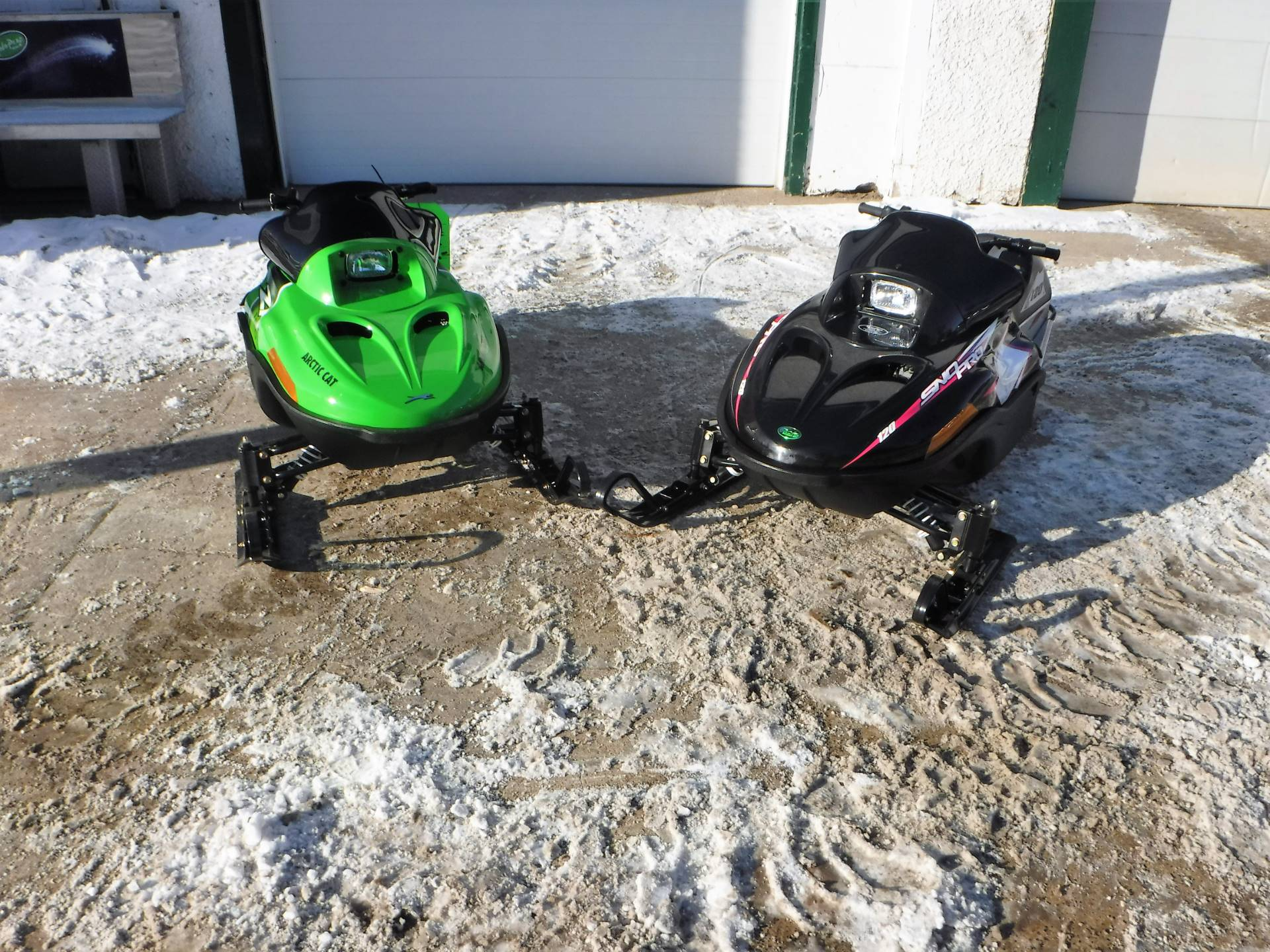2017 Arctic Cat ZR 120 in Mazeppa, Minnesota