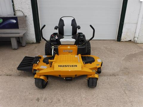 2019 Hustler Turf Equipment Raptor SDX 60 in. Kawasaki 24 hp in Mazeppa, Minnesota - Photo 3