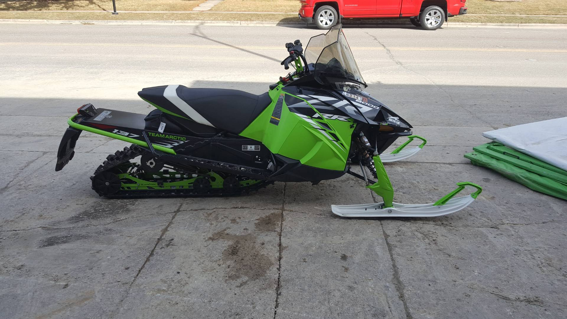 2021 Arctic Cat ZR 8000 RR ES in Mazeppa, Minnesota - Photo 2
