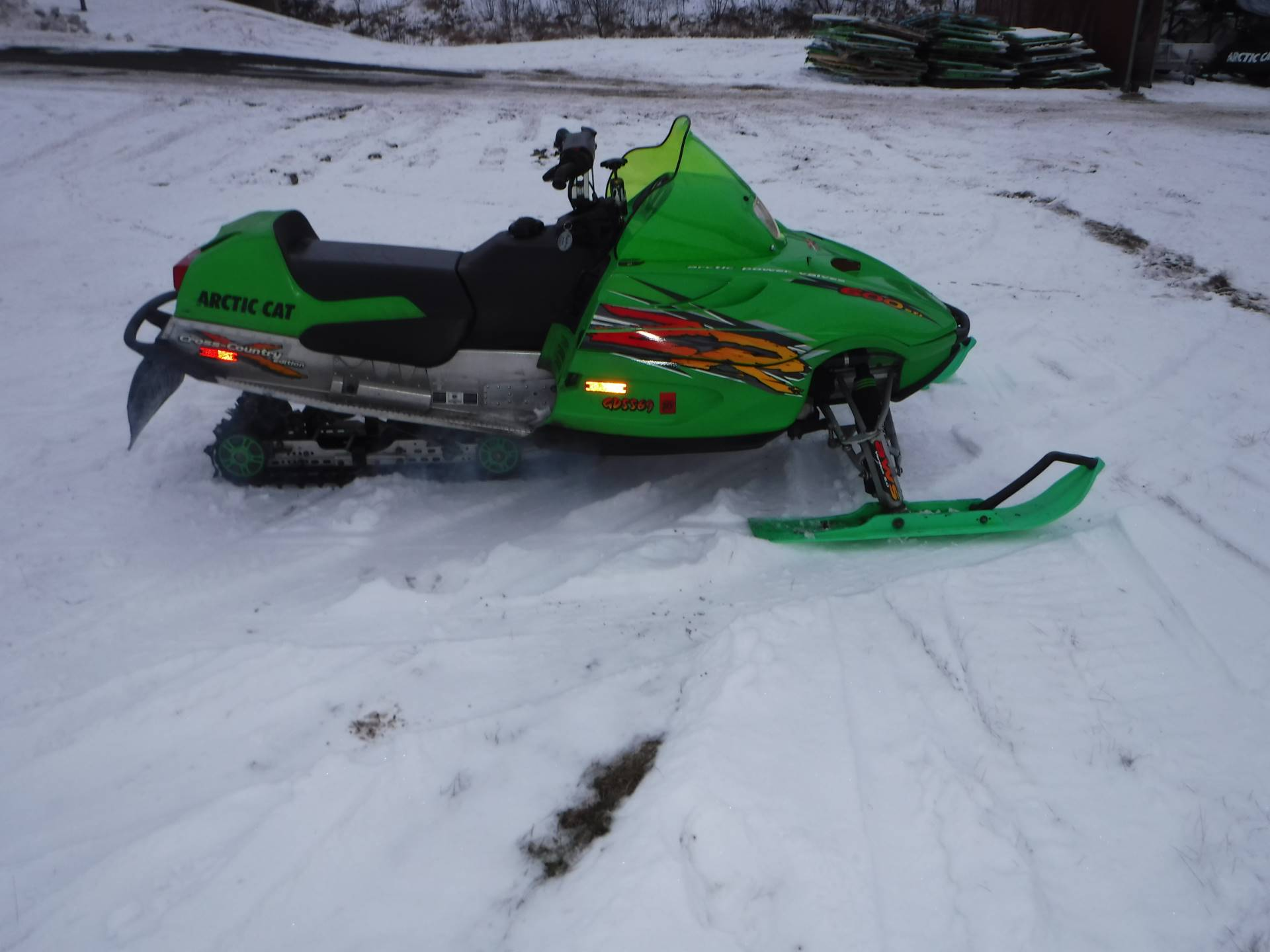 2002 Arctic Cat ZR Cross Country LE  600 EFI in Mazeppa, Minnesota