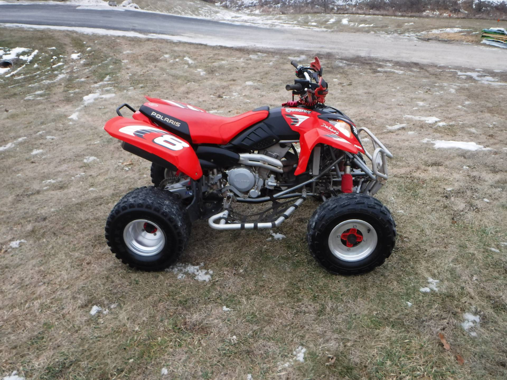 2004 Polaris Predator 500 Dale Earnhardt, Jr. Edition in Mazeppa, Minnesota