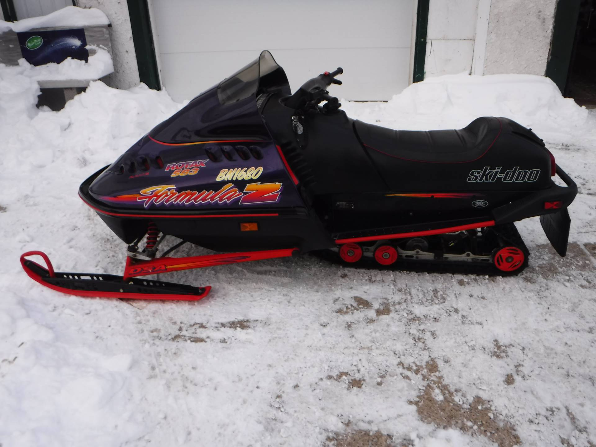 1996 Ski-Doo Forumula Z in Mazeppa, Minnesota - Photo 1