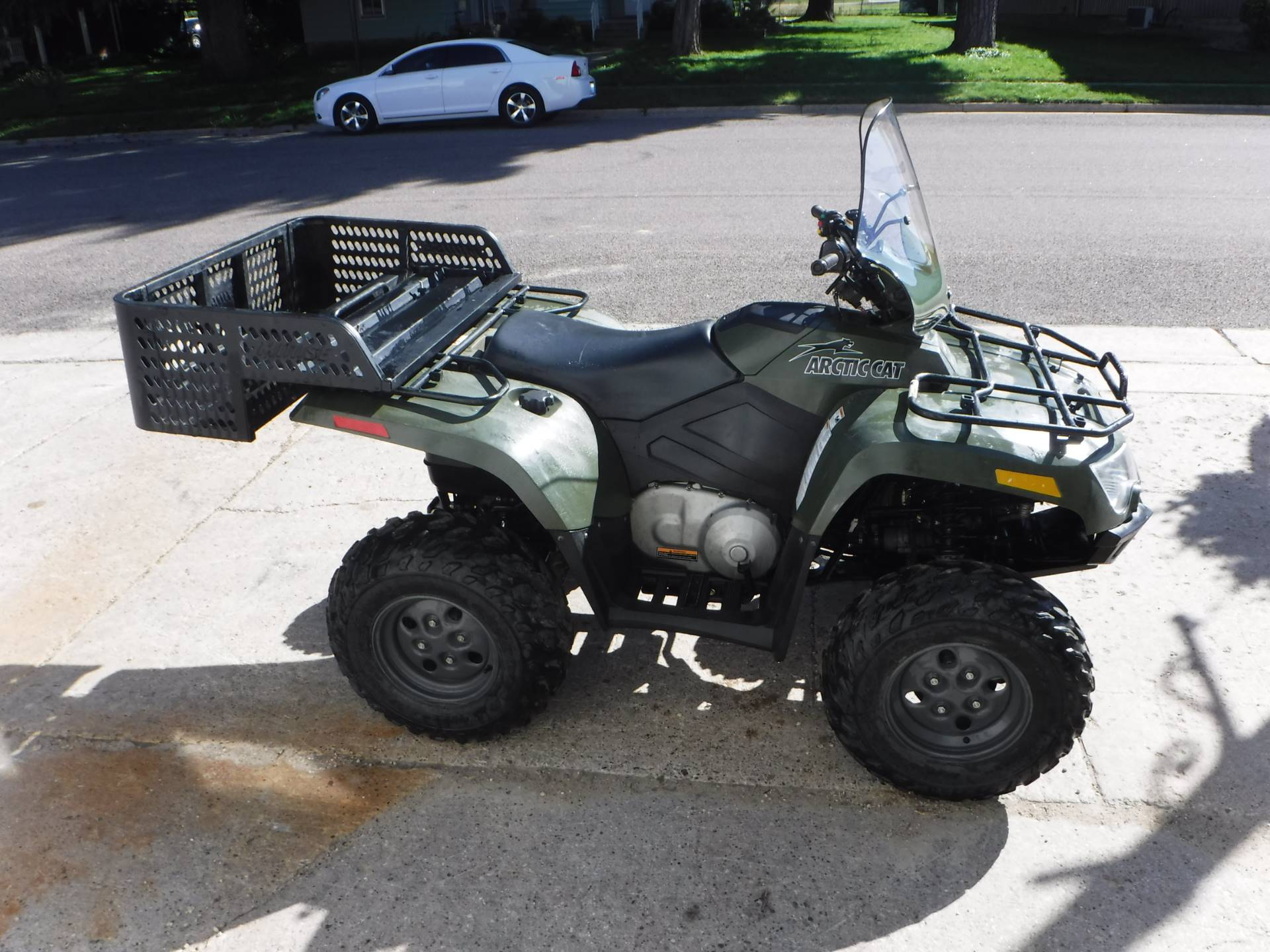 2008 Arctic Cat 400 4x4 Auto in Mazeppa, Minnesota - Photo 2