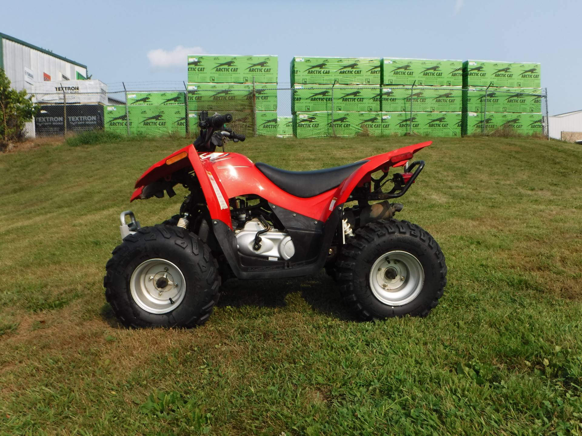 2018 Arctic Cat Alterra DVX 90 in Mazeppa, Minnesota - Photo 1