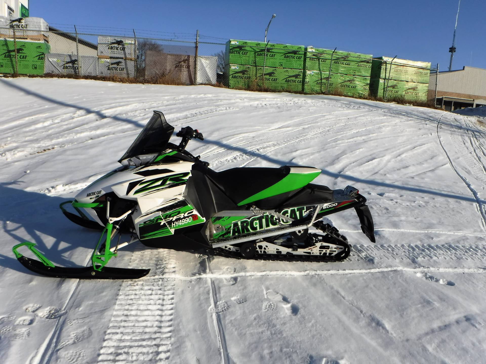 2015 Arctic Cat ZR® 6000 Sno Pro® in Mazeppa, Minnesota