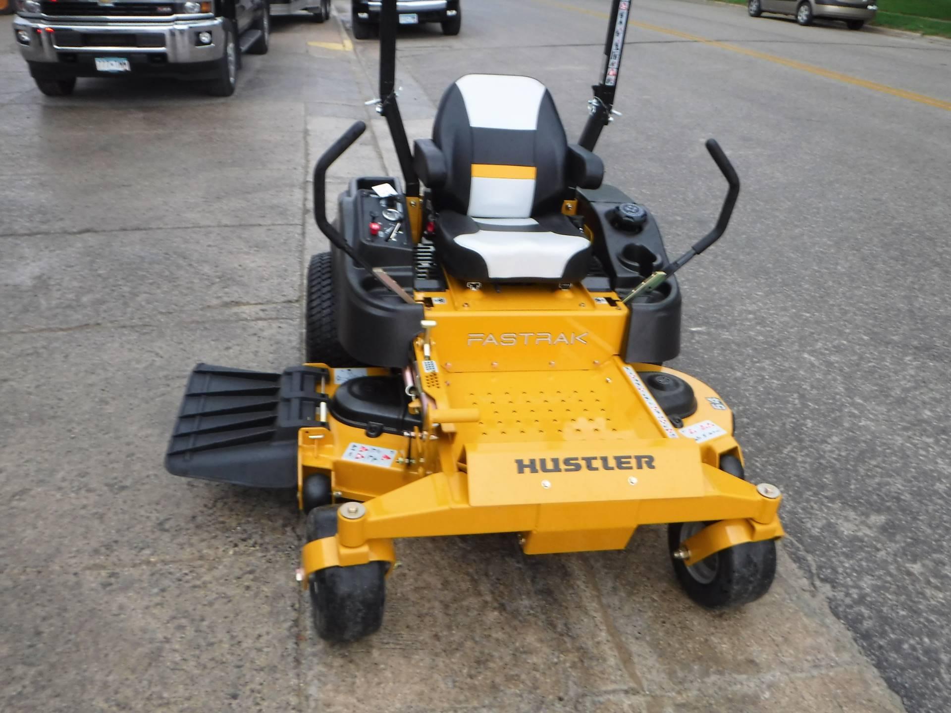 New 2017 Hustler Turf Equipment FasTrak 54 in Kawasaki FR691V Lawn