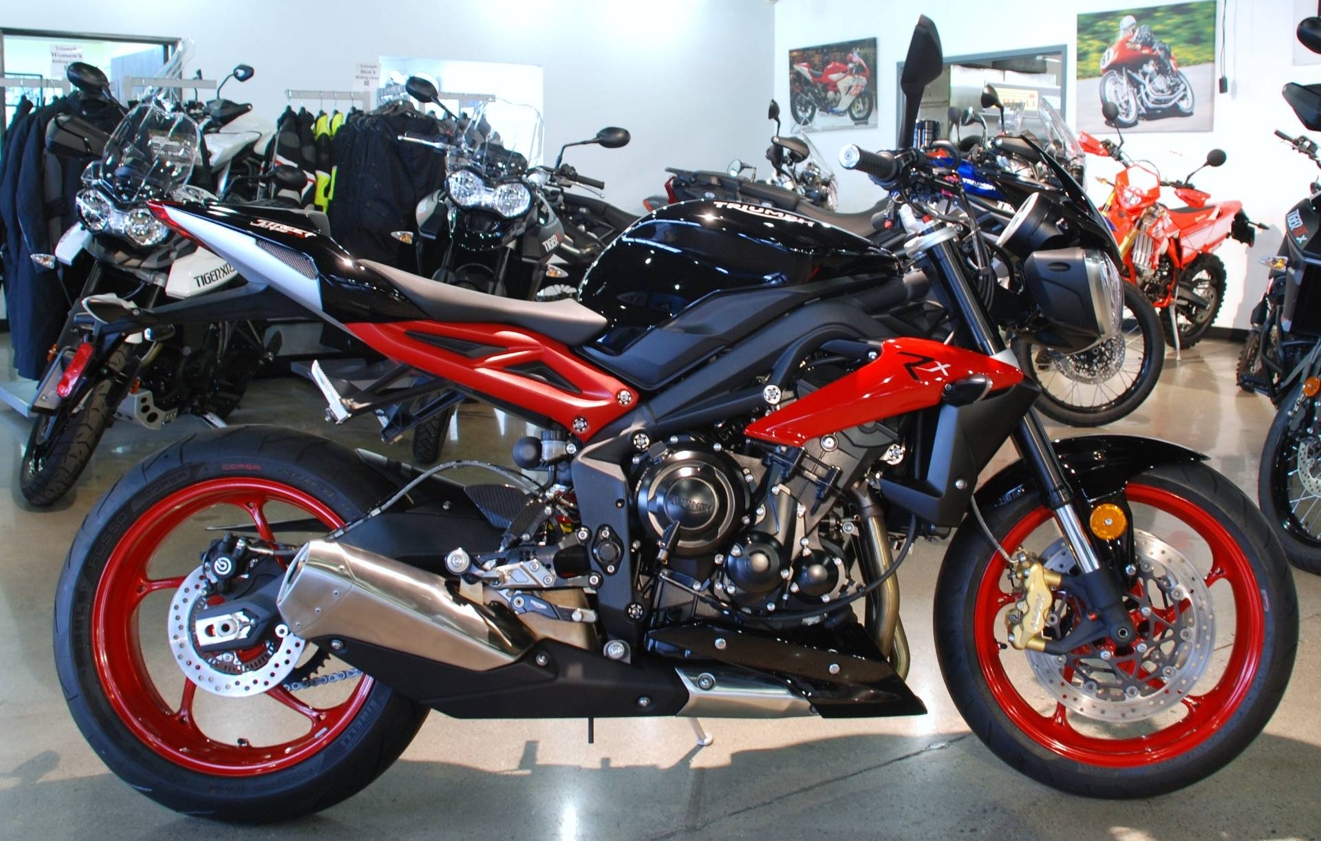 2016 Triumph Street Triple Rx ABS in San Bernardino, California