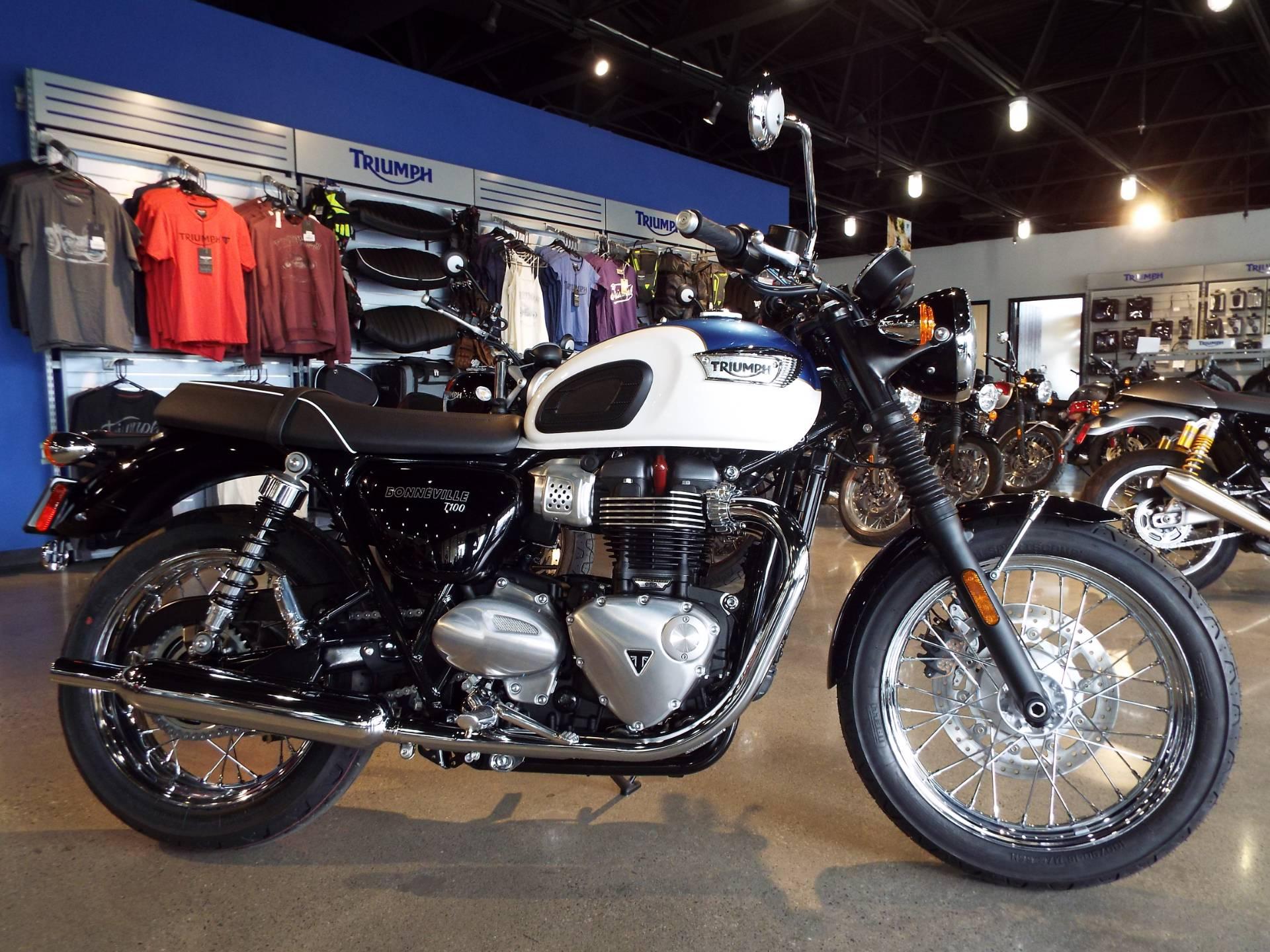 2017 Triumph Bonneville T100 in San Bernardino, California