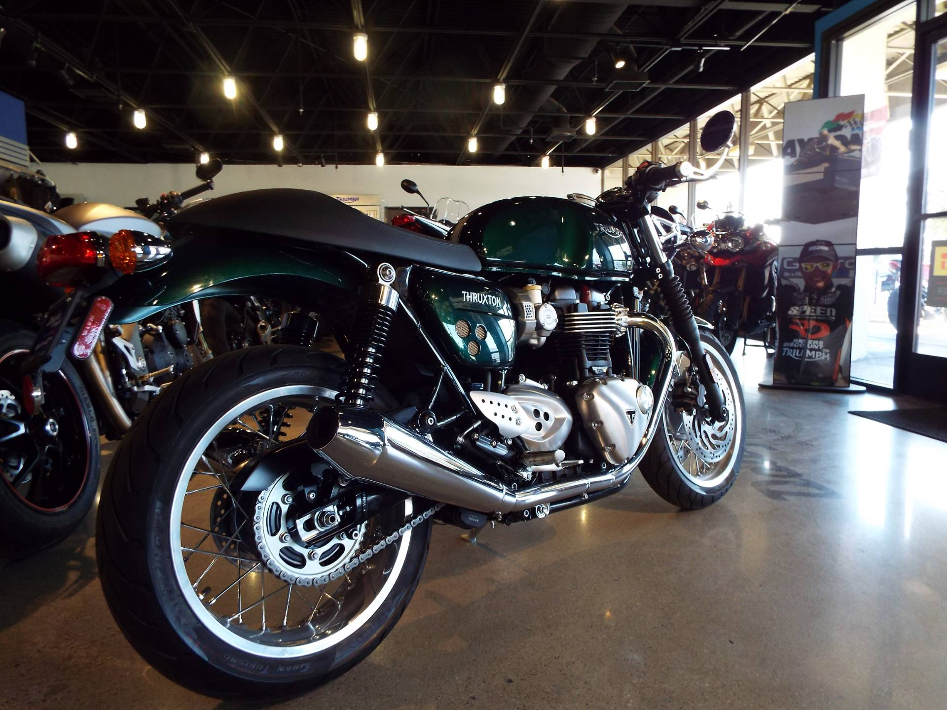 2017 Triumph Thruxton 1200 in San Bernardino, California