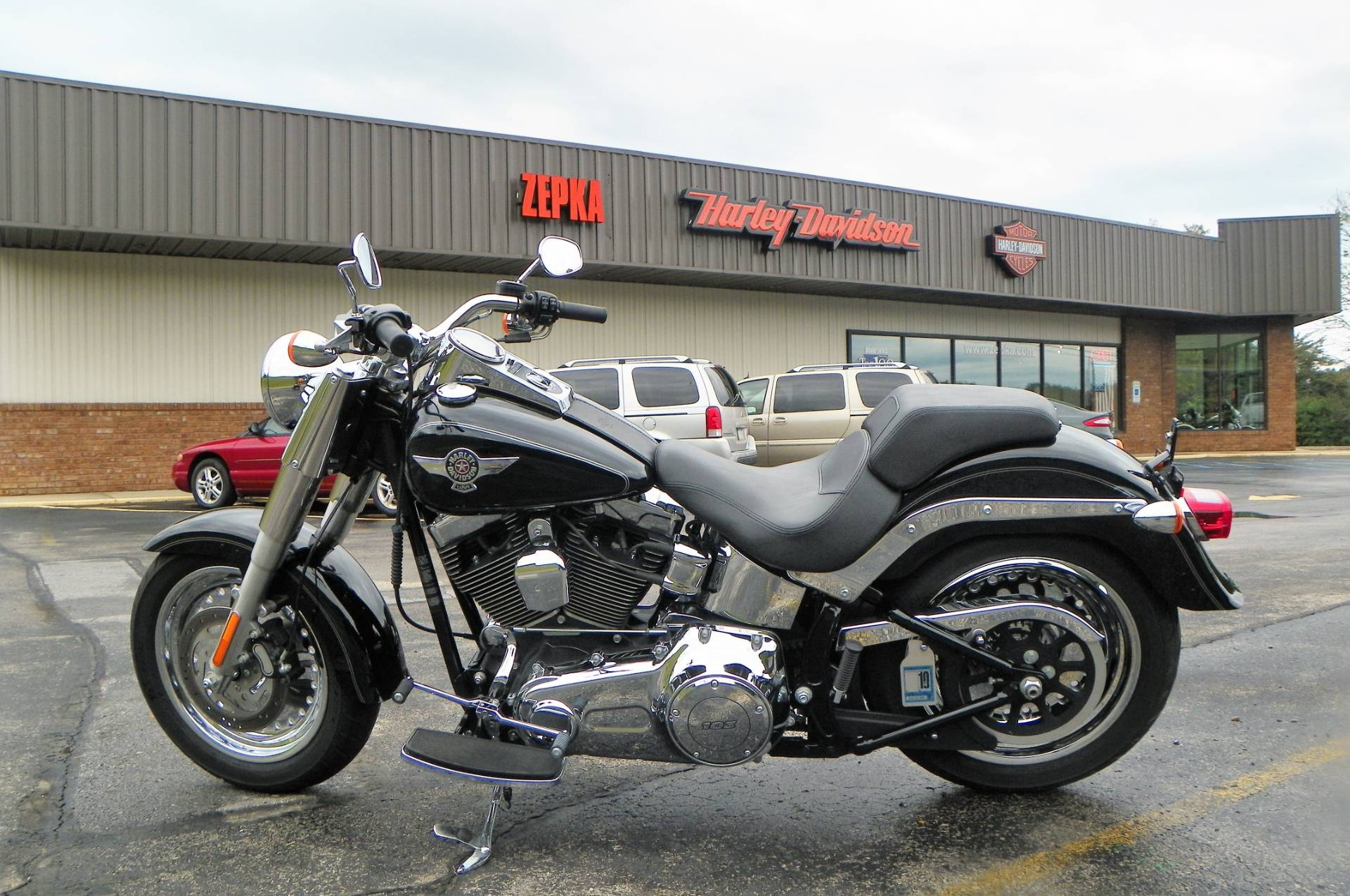 2013 Harley-Davidson Softail® Fat Boy® in Johnstown, Pennsylvania