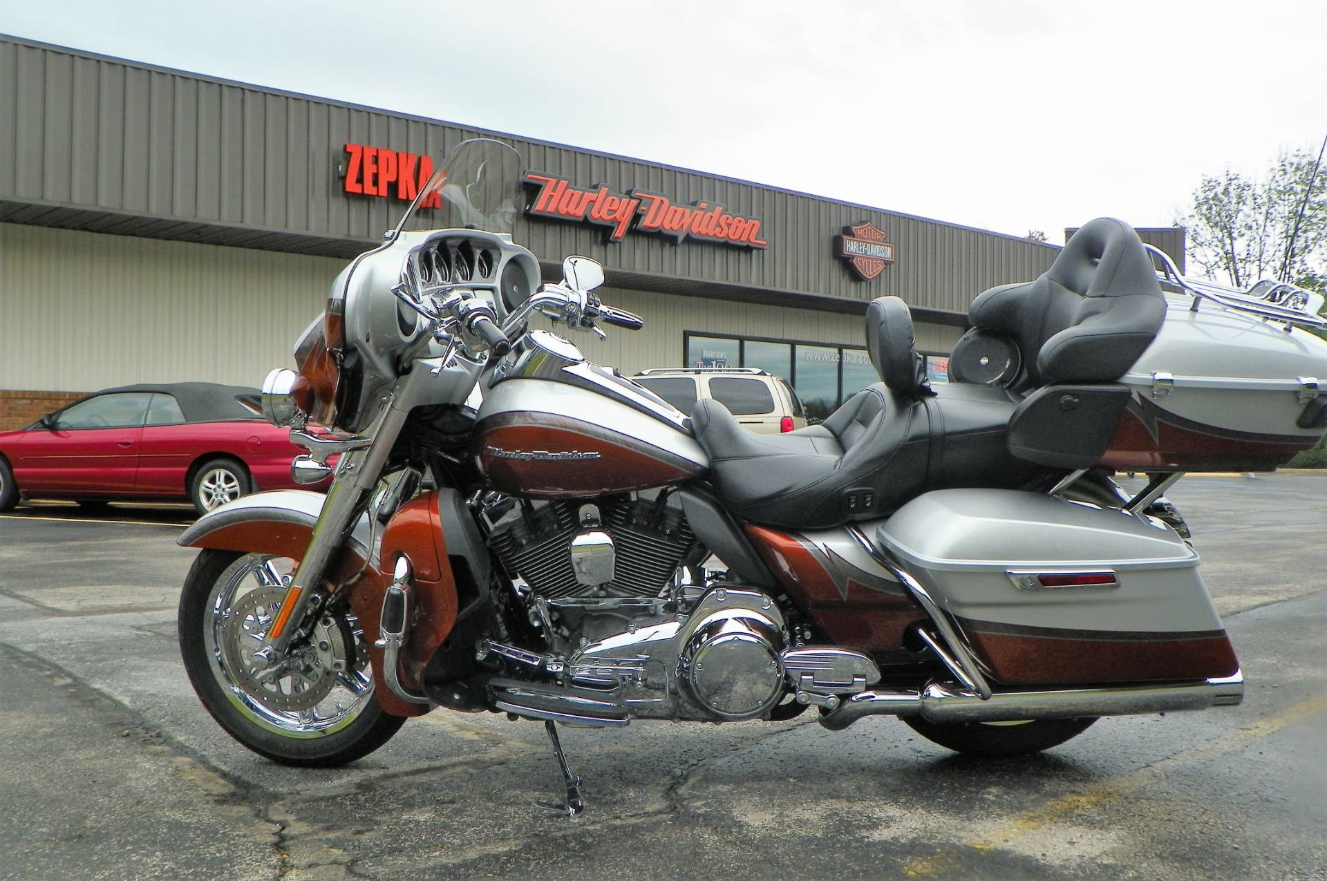 2014 Harley-Davidson CVO™ Limited in Johnstown, Pennsylvania