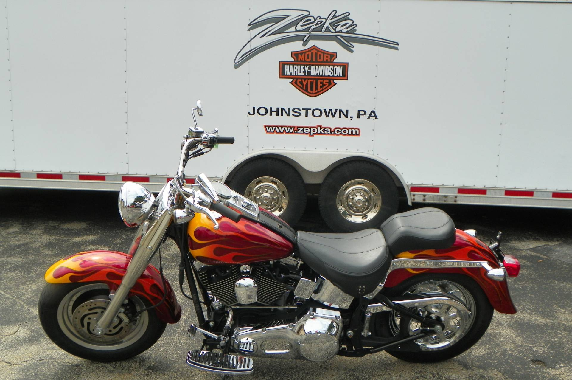 2002 Harley-Davidson FLSTF/FLSTFI Fat Boy® in Johnstown, Pennsylvania - Photo 9