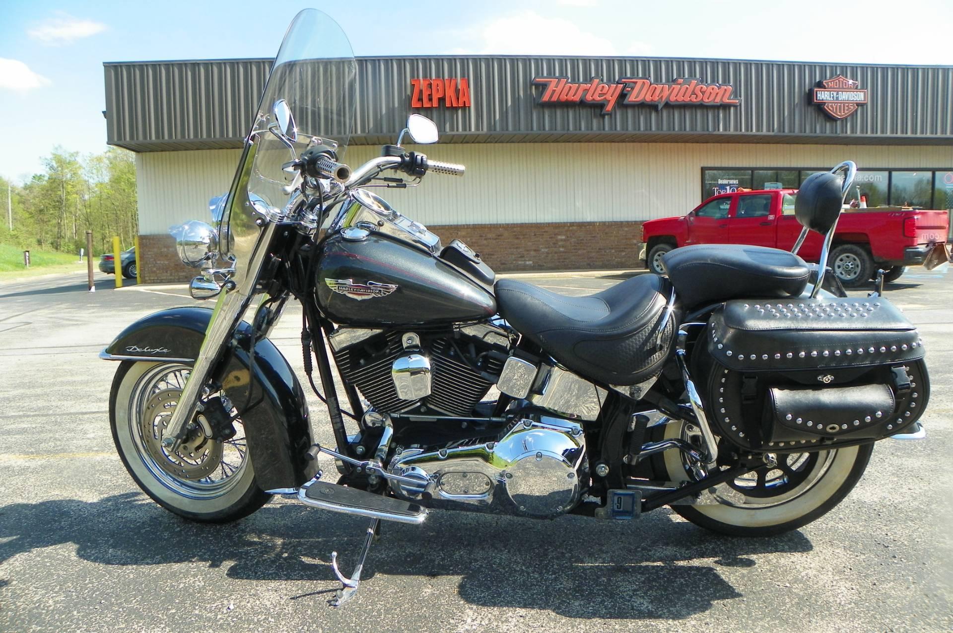 2005 Harley-Davidson FLSTN/FLSTNI Softail® Deluxe in Johnstown, Pennsylvania