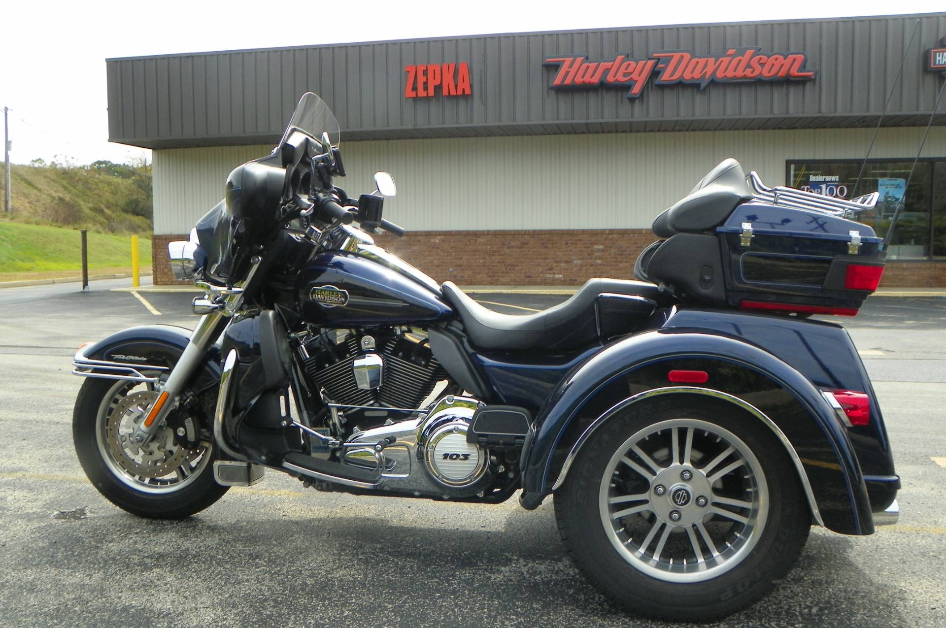 2012 Harley-Davidson Tri Glide® Ultra Classic® in Johnstown, Pennsylvania - Photo 9