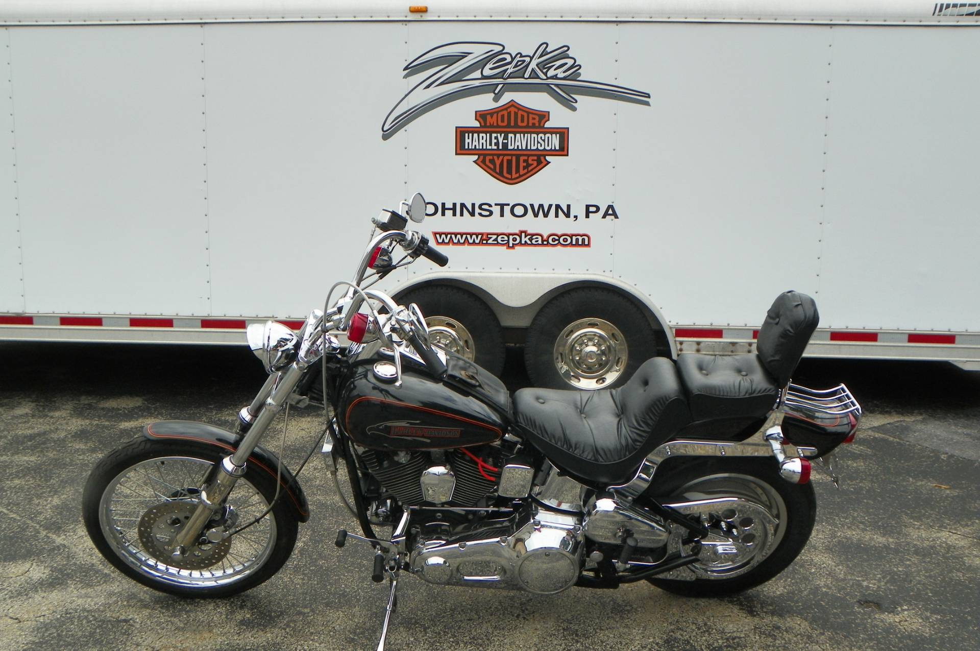 1990 Harley-Davidson Softail Custom in Johnstown, Pennsylvania - Photo 8