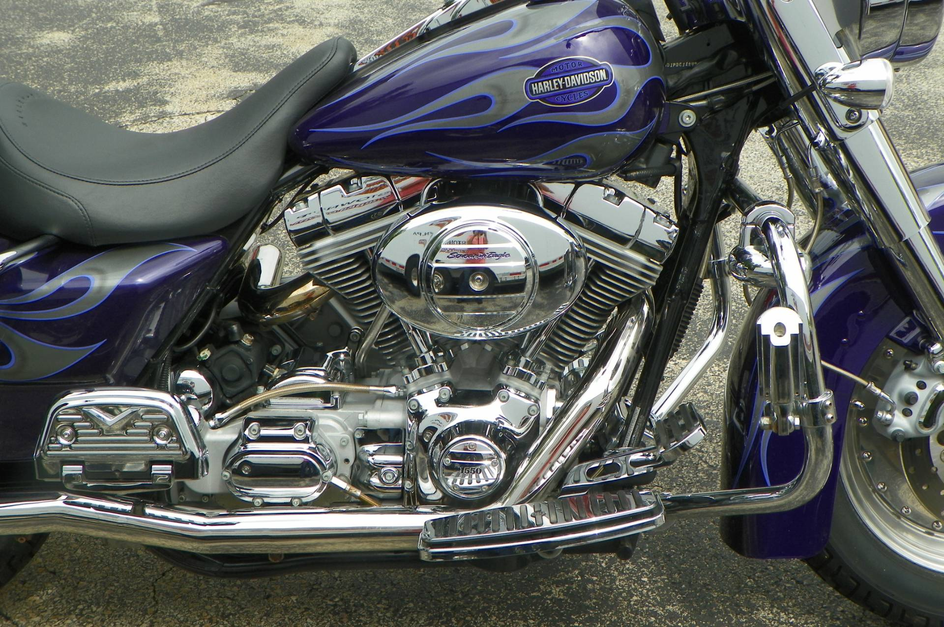 2002 Harley-Davidson Road King Screamin' Eagle in Johnstown, Pennsylvania - Photo 2