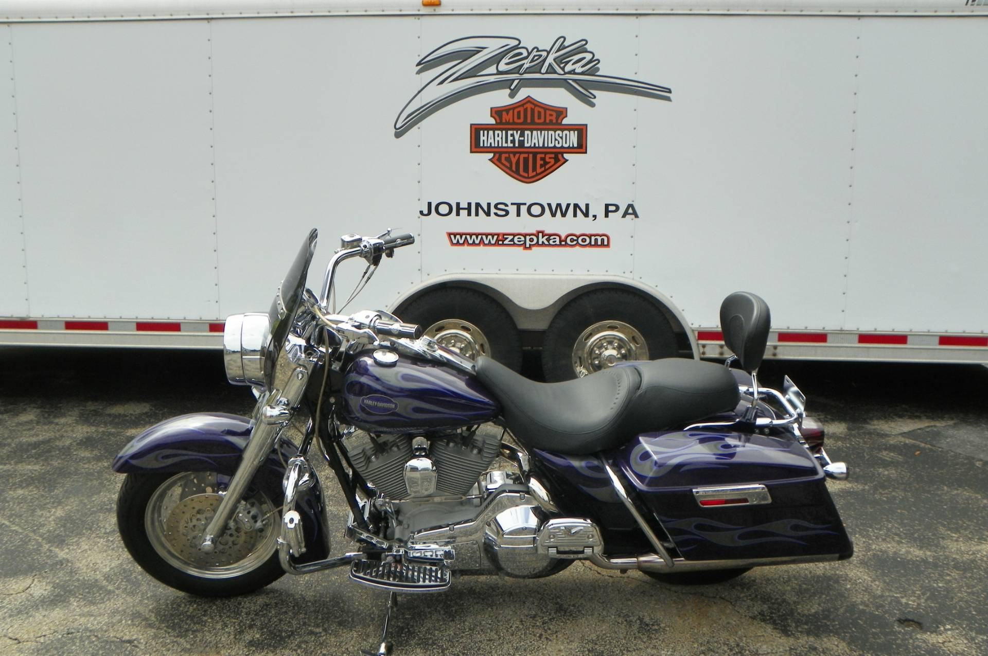 2002 Harley-Davidson Road King Screamin' Eagle in Johnstown, Pennsylvania - Photo 8