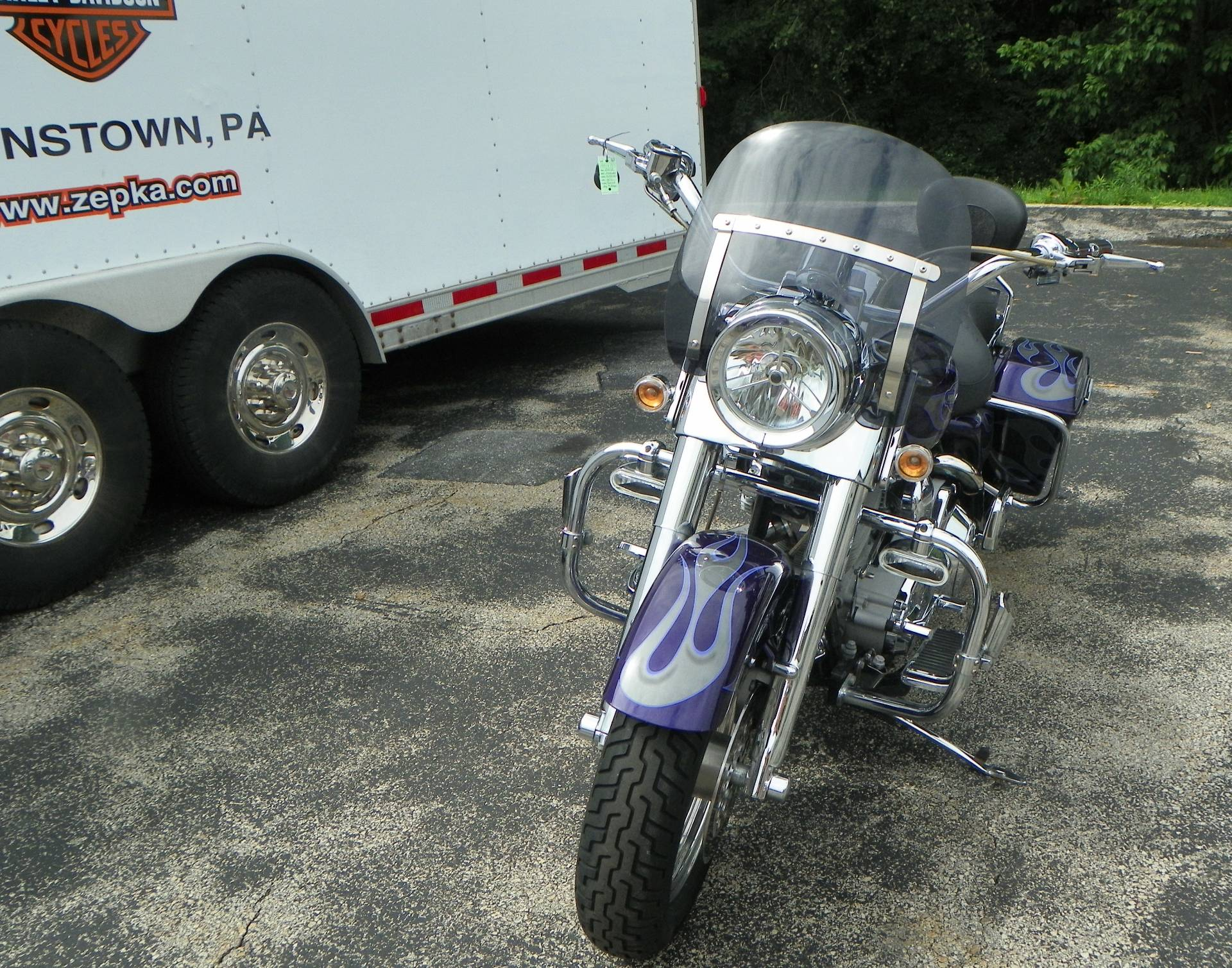 2002 Harley-Davidson Road King Screamin' Eagle in Johnstown, Pennsylvania - Photo 9